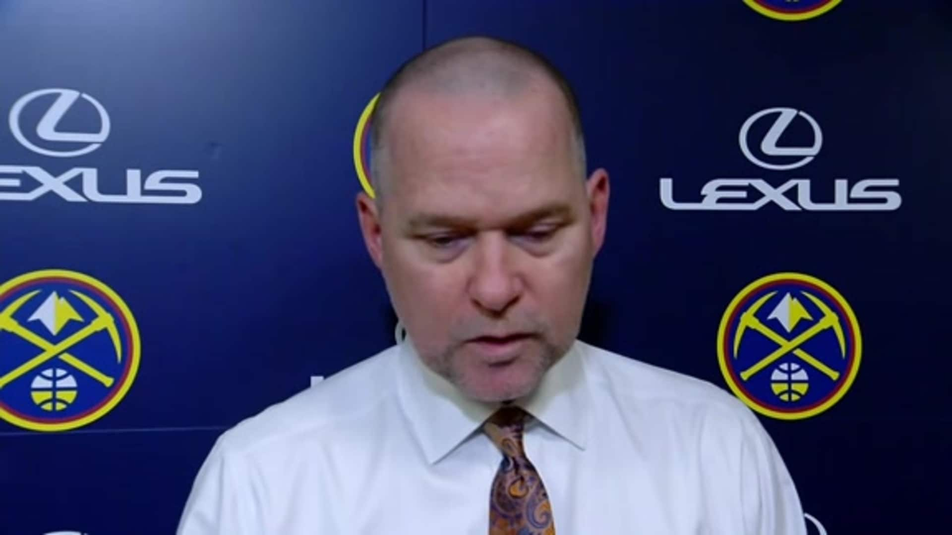 Nuggets vs. Cavaliers: Michael Malone postgame interview