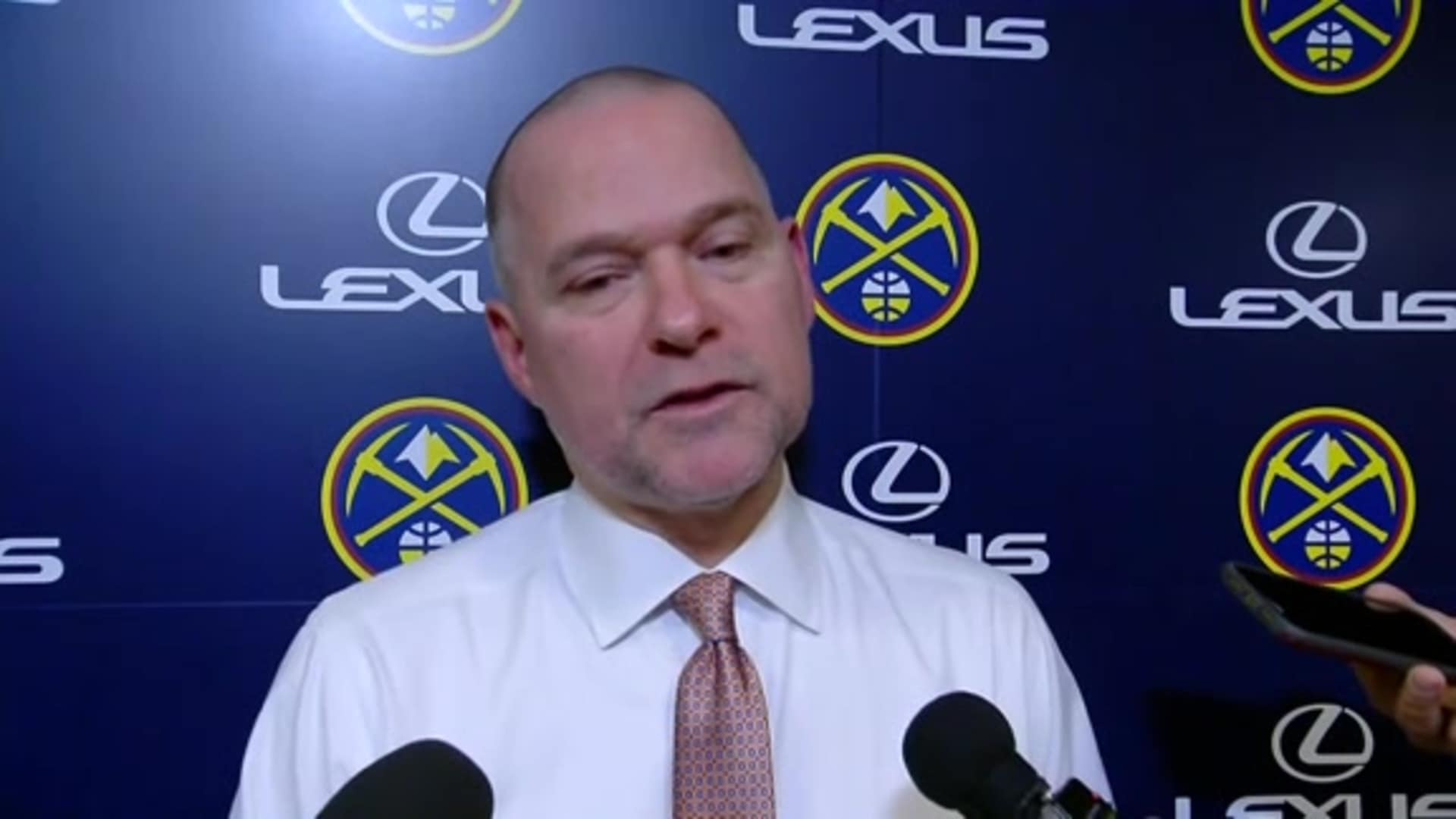 Nuggets vs. Hornets: Michael Malone postgame interview