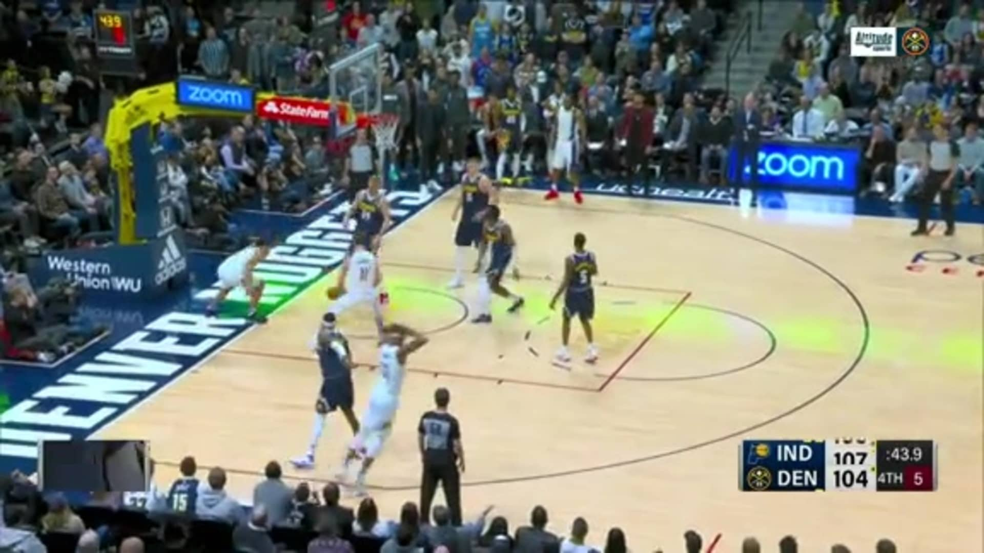 Toyota Game Recap: Denver Nuggets vs. Indiana Pacers