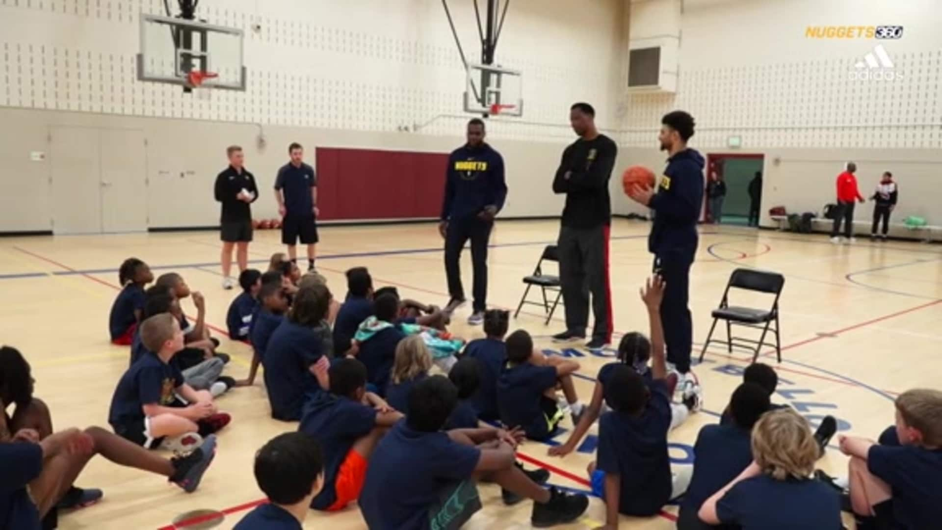 N360: Paul Millsap visits Montbello
