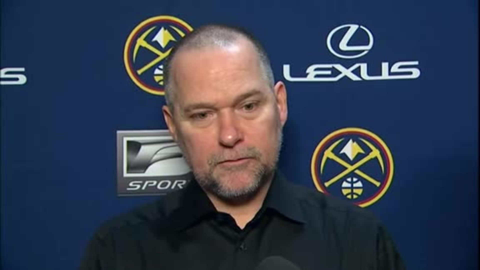Nuggets vs. Rockets: Michael Malone postgame interview