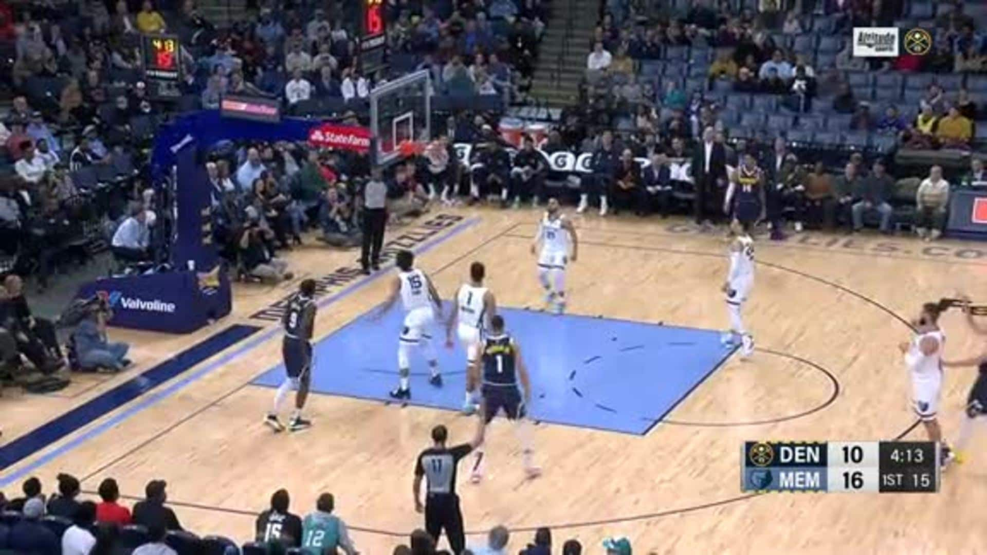 Toyota Game Recap: Nuggets lose 104-96 to Grizzlies in Memphis