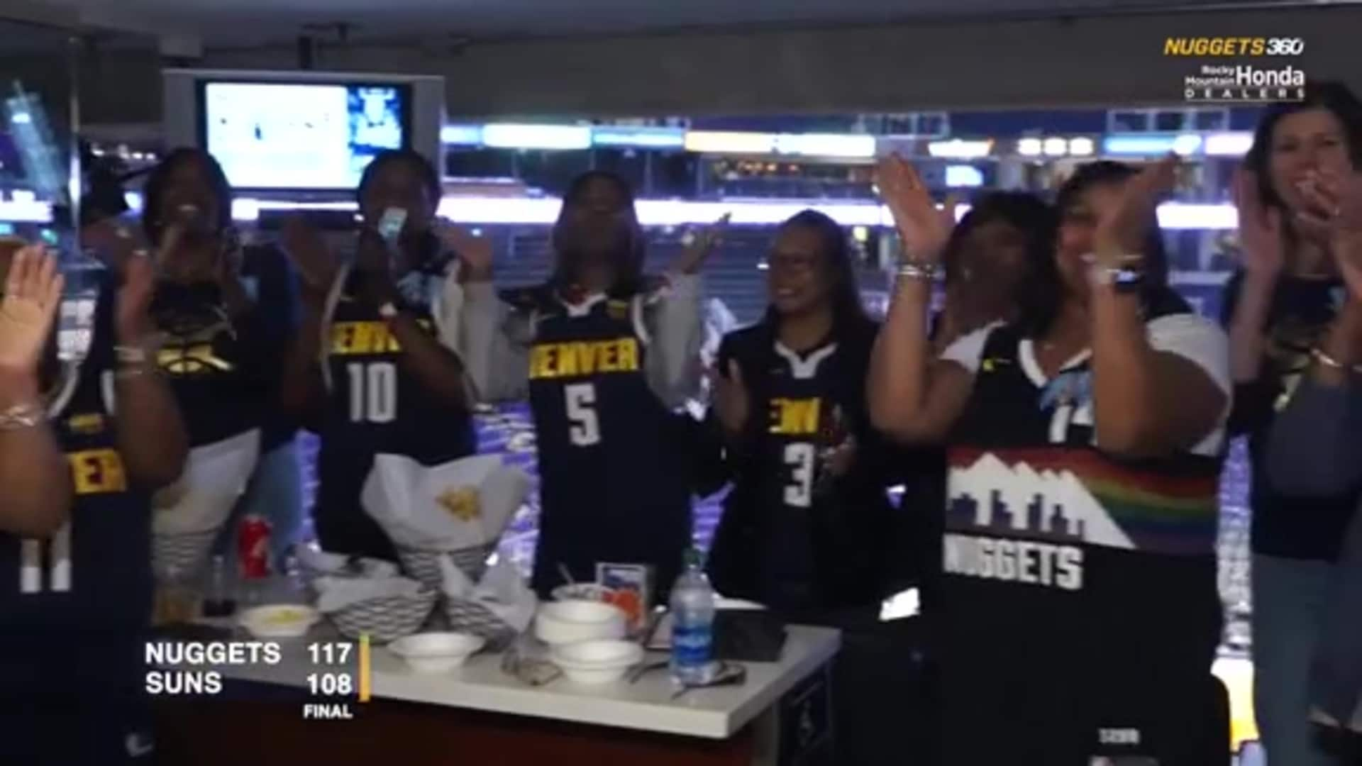 N360: Nuggets host dinner for players and their mothers