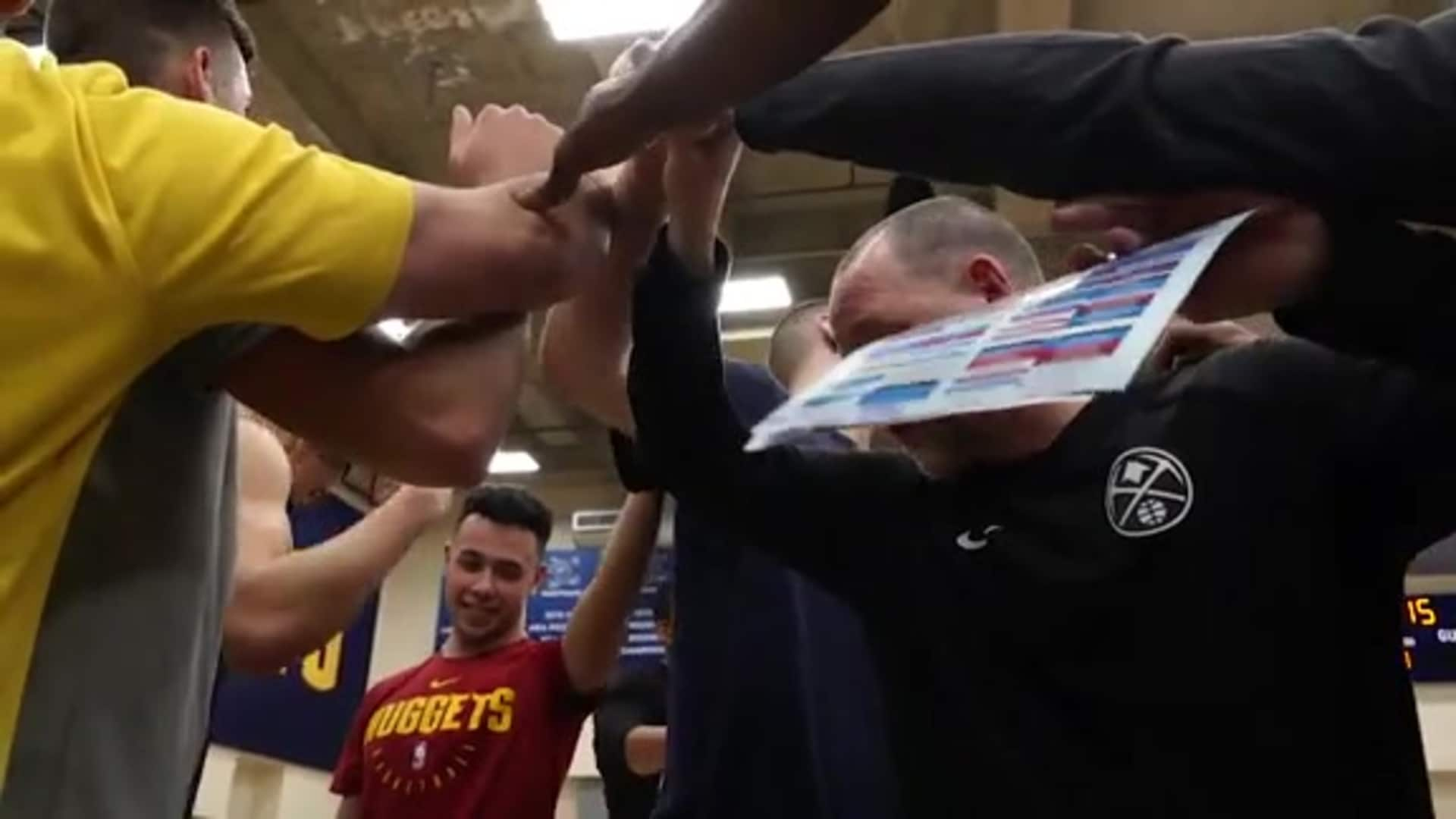 Nuggets rookies sing Nikola Jokić happy birthday in Serbian