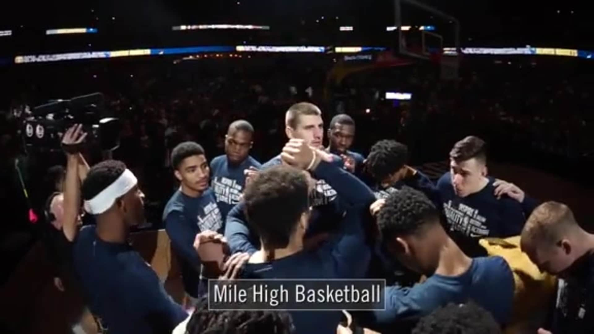 Mile High Rally Cry | Denver Nuggets