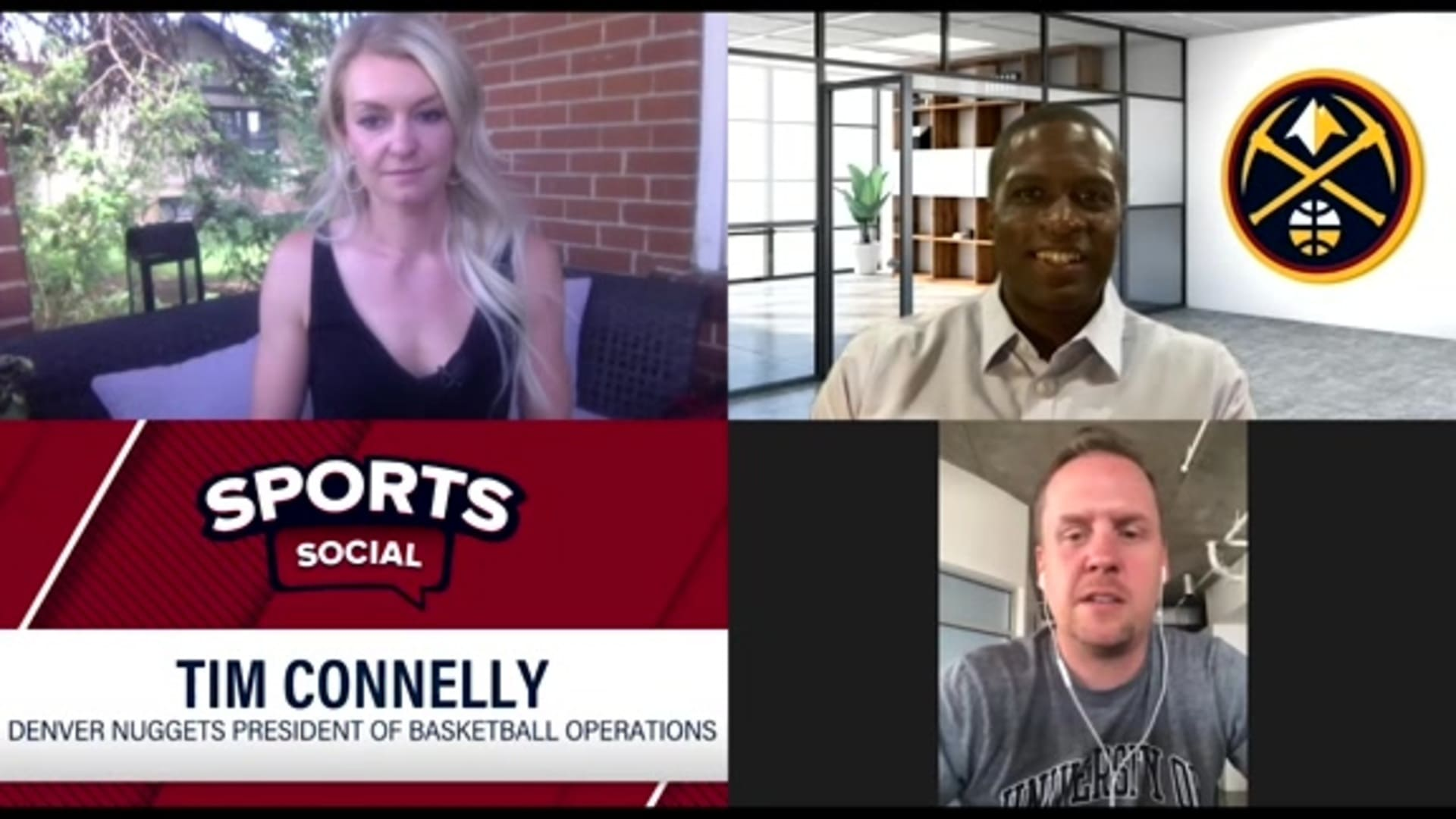 Tim Connelly joins Sports Social (6/3/20)