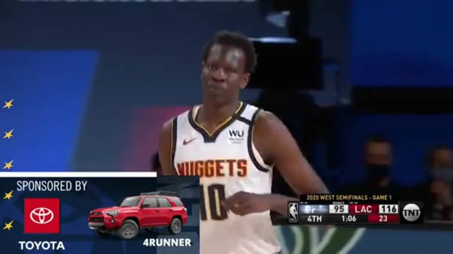 Toyota Game Recap: Fatigue proves costly for the Nuggets in game 1