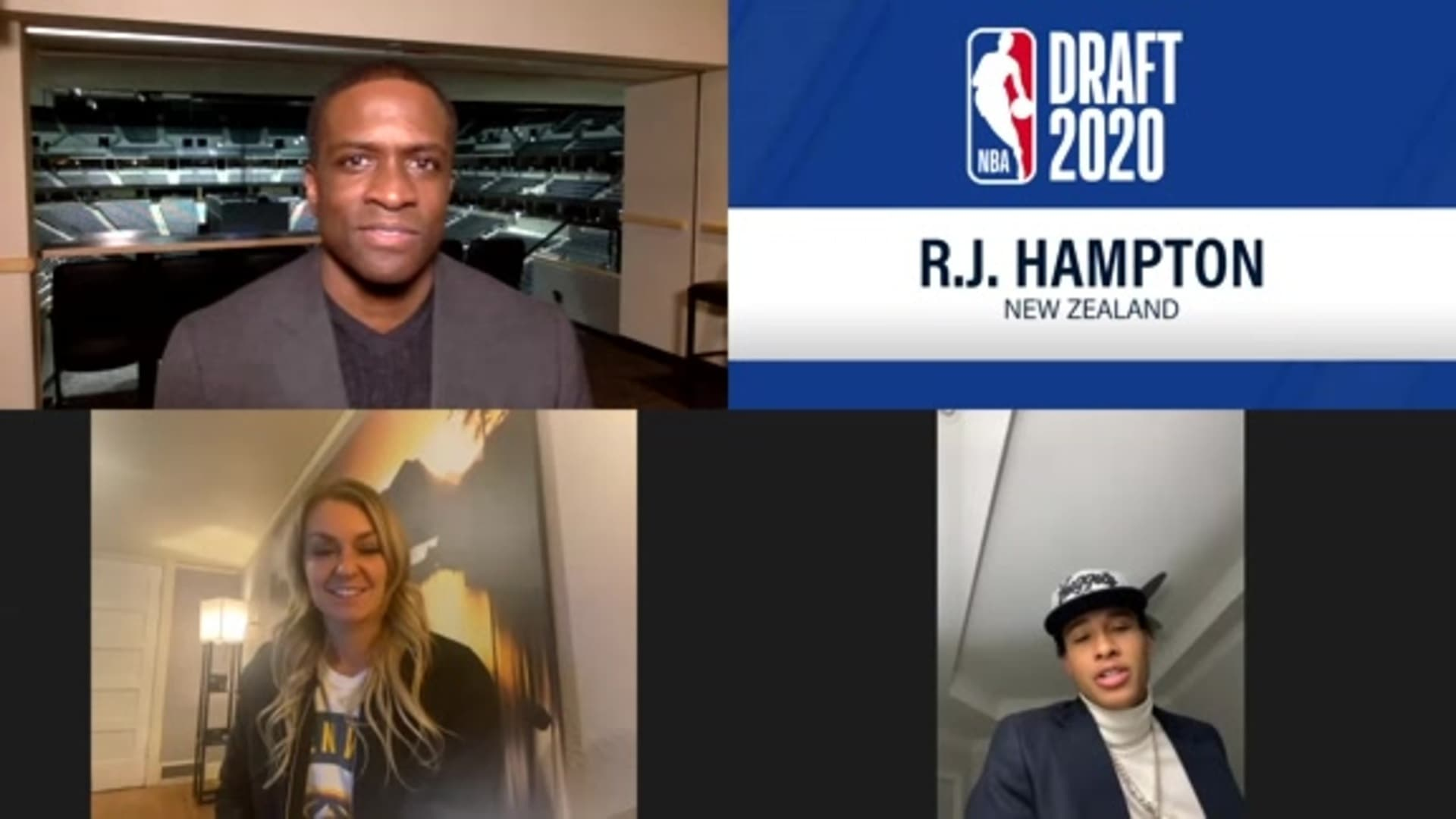 R.J. Hampton 2020 Draft interview