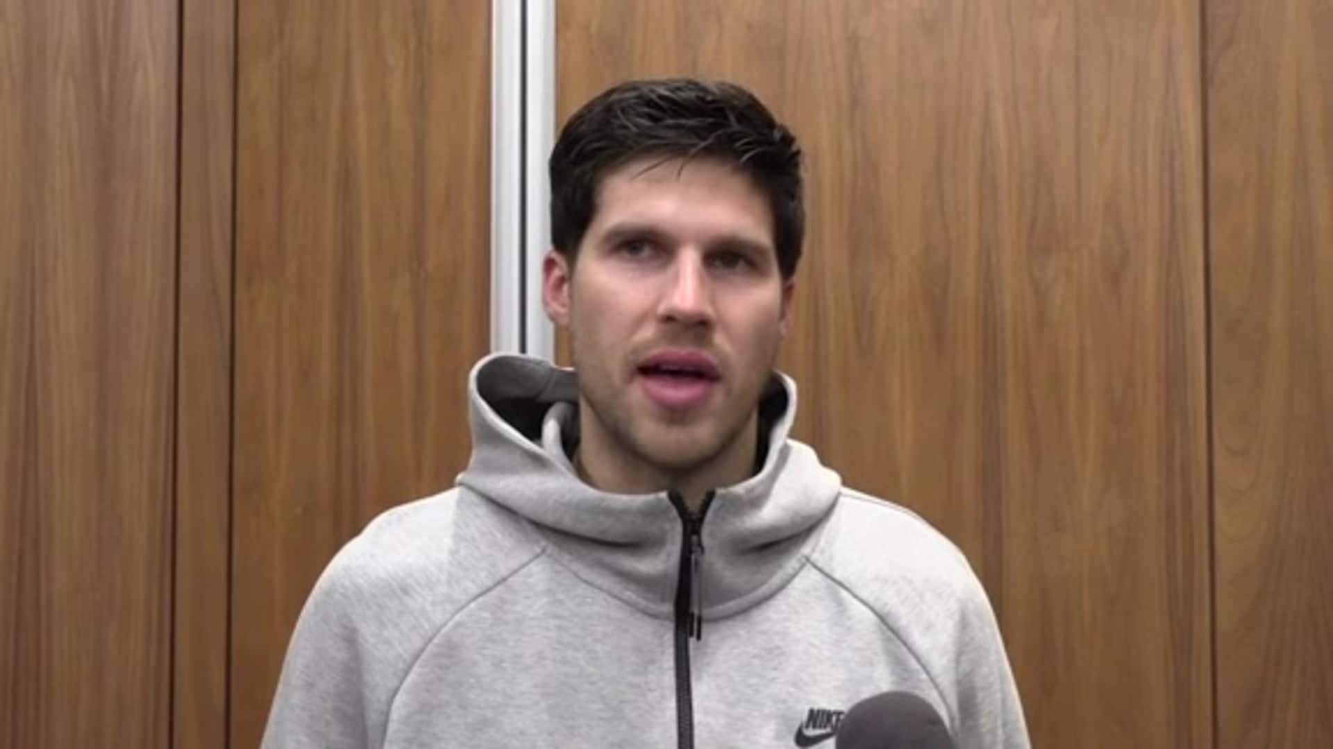 Postgame: Pacers Locker Room - Nov. 8, 2019