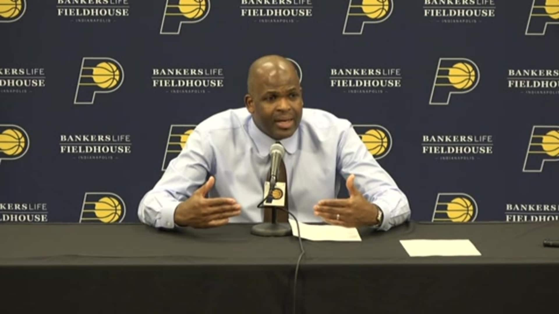 Postgame: McMillan Press Conference - Nov. 16, 2019