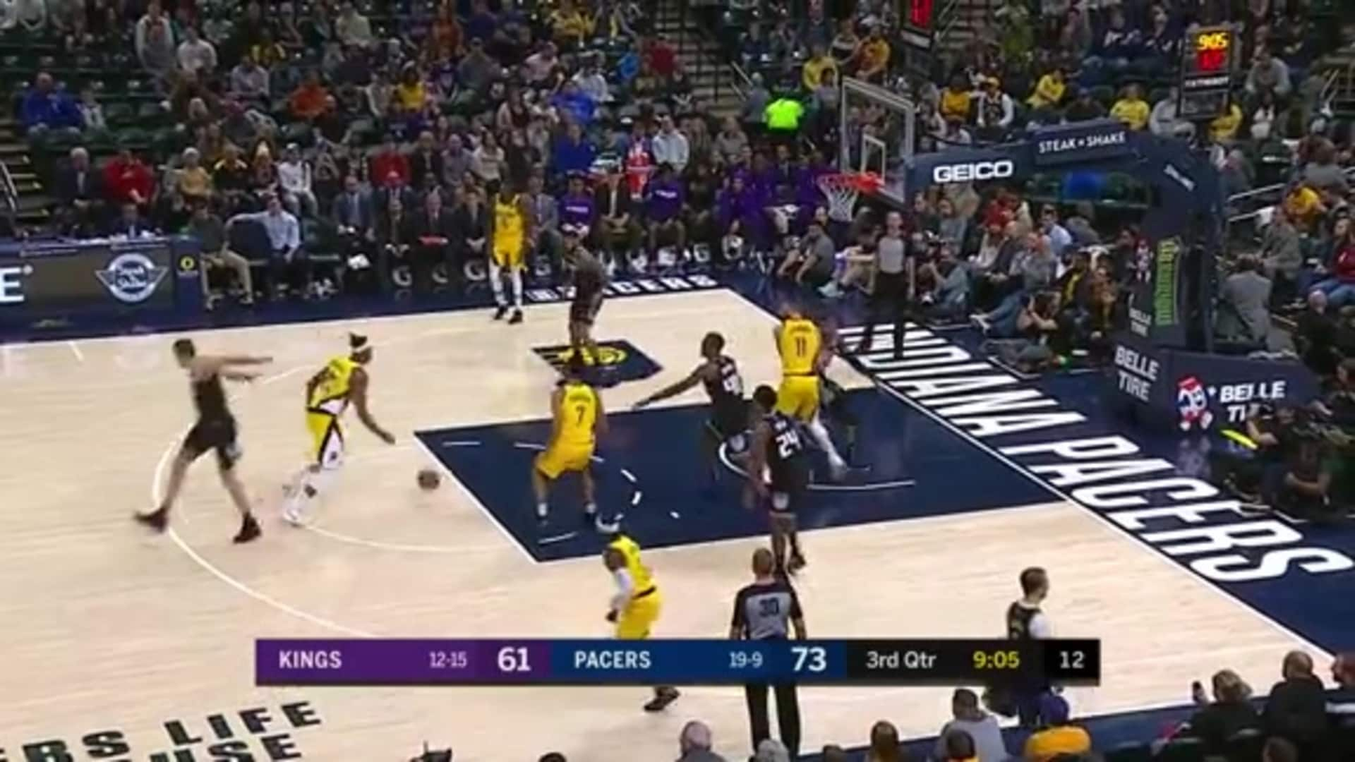 Turner Finishes with the Left