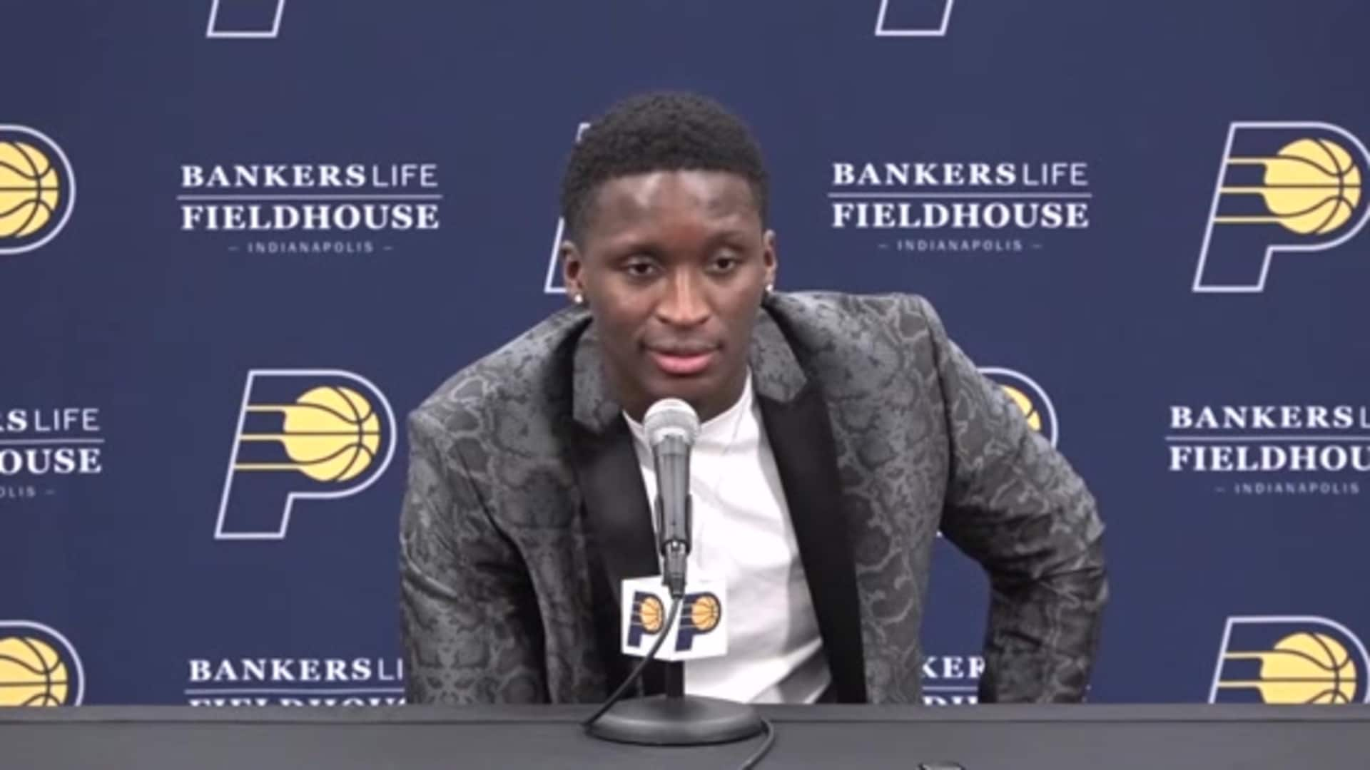 Victor Oladipo Discusses Planned Season Debut