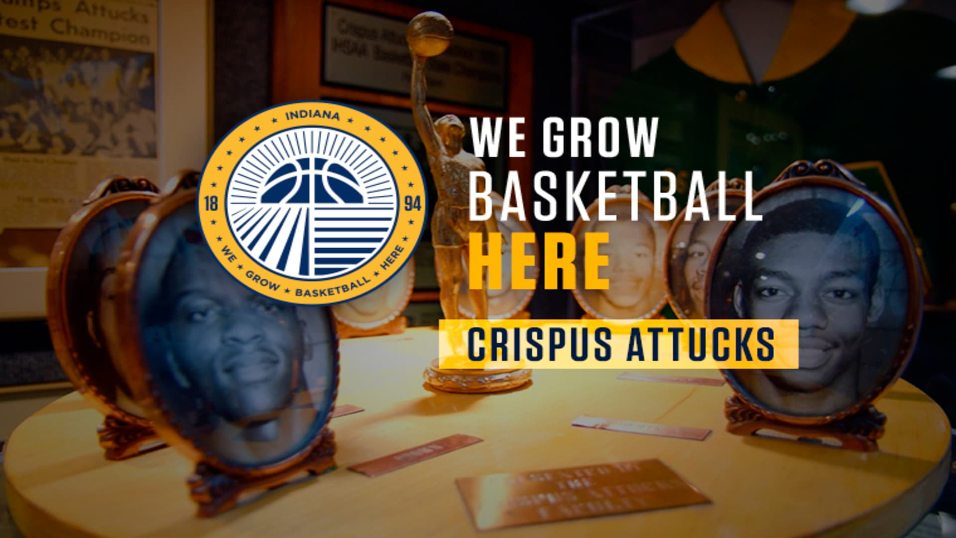 Crispus Attucks High School - We Grow Basketball Here Ep. 3 (Part 1)