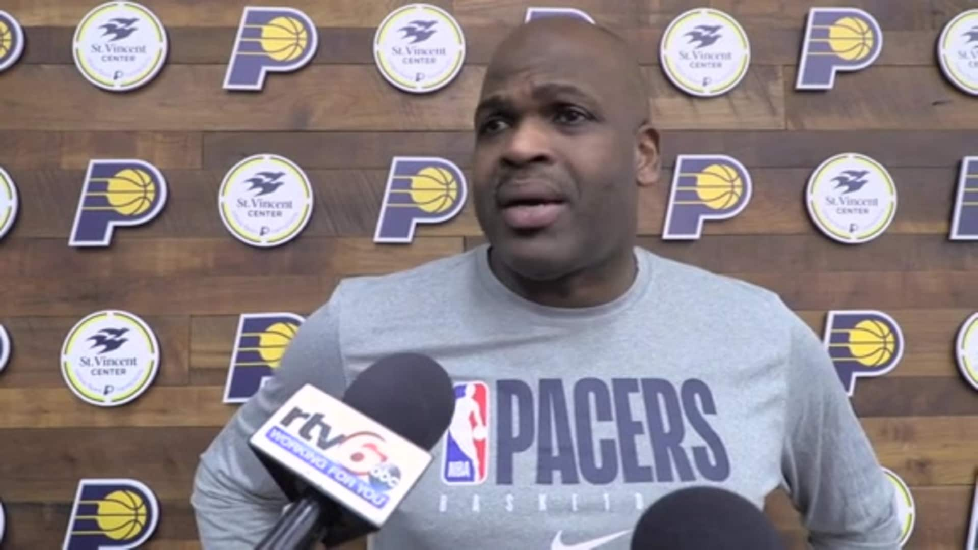 Pacers Hoping to Shake Off Loss in Toronto, Warren Progressing