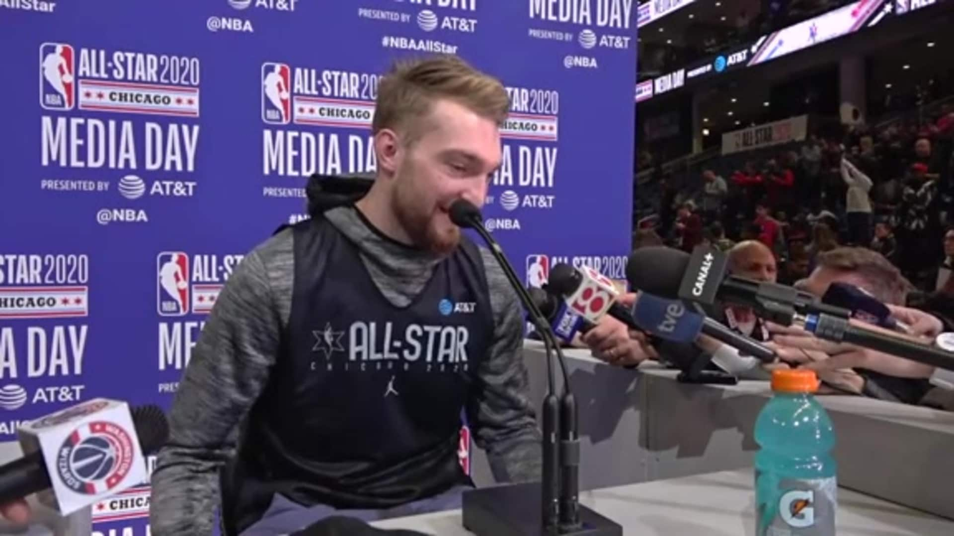 Sabonis on All-Star Experience