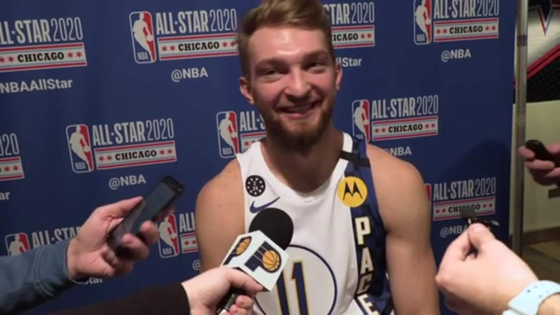 Sabonis Reflects on Runner-Up Finish in Skills Competition