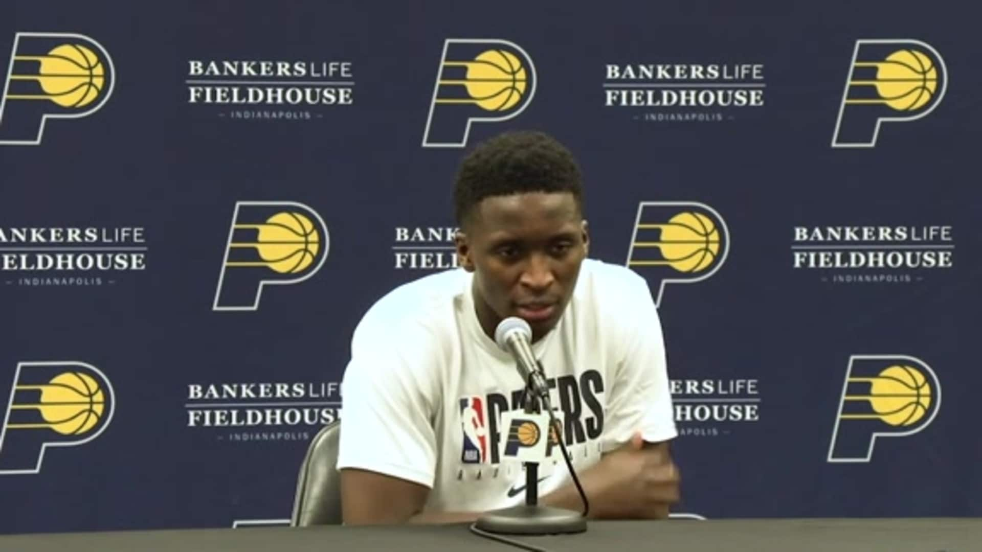 Postgame: Pacers Locker Room - March 10, 2020