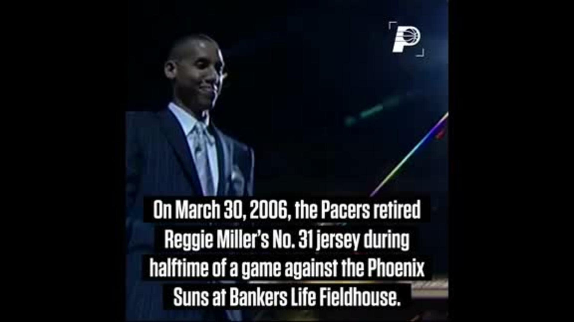 On This Day: Reggie Miller's Jersey Retirement