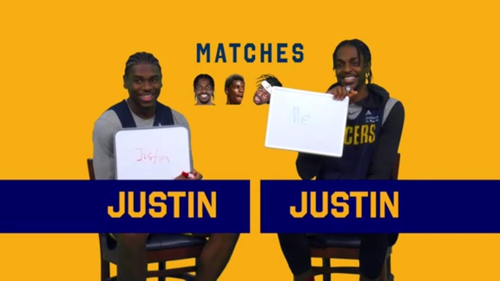 Brothers Game: Aaron and Justin Holiday