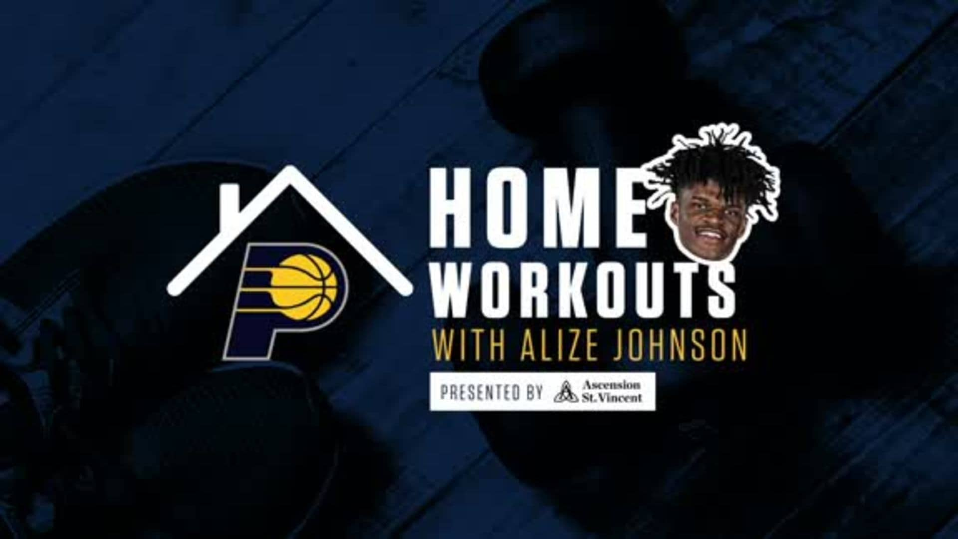 Home Workouts with Alize Johnson