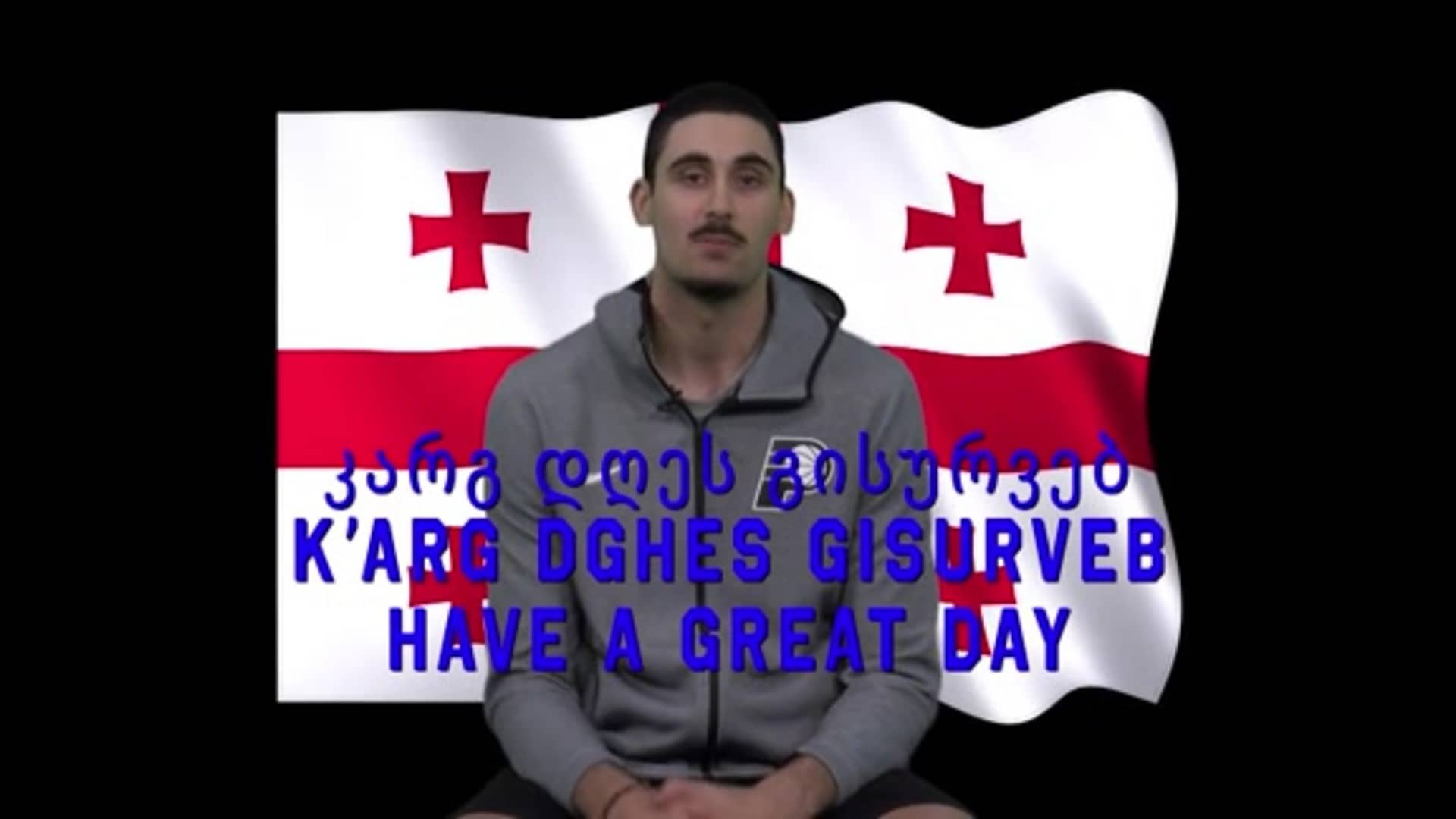 Learning Georgian with Goga: Have a Great Day