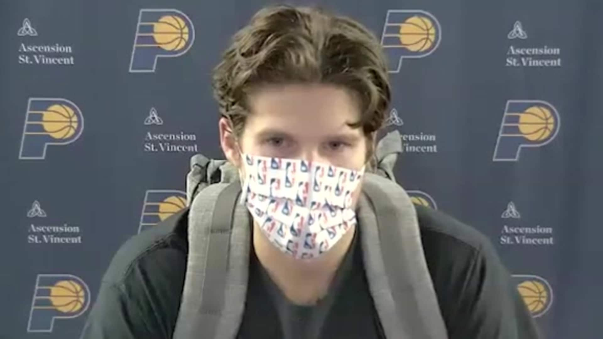 Postgame: Pacers Locker Room - Aug. 14, 2020