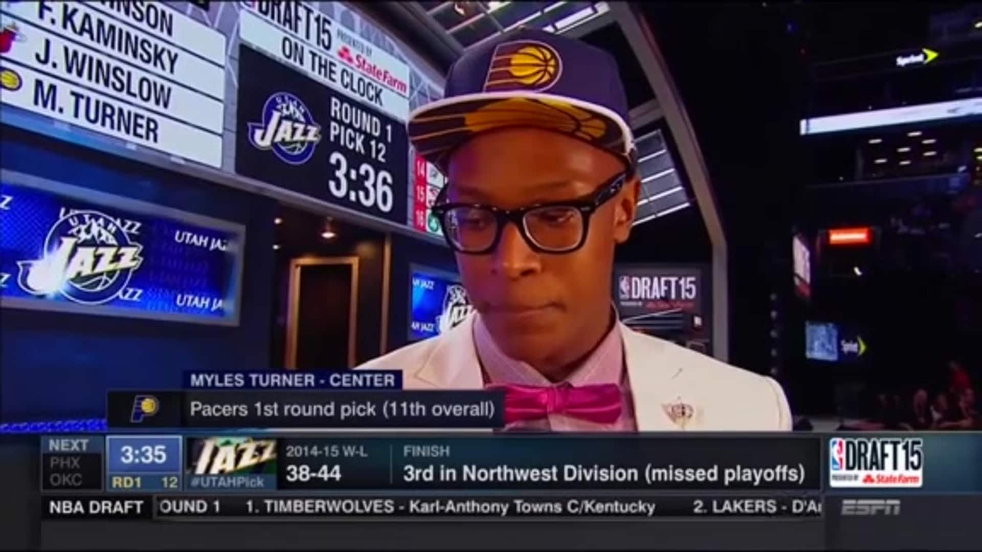 Draft Flashback: Pacers Select Myles Turner