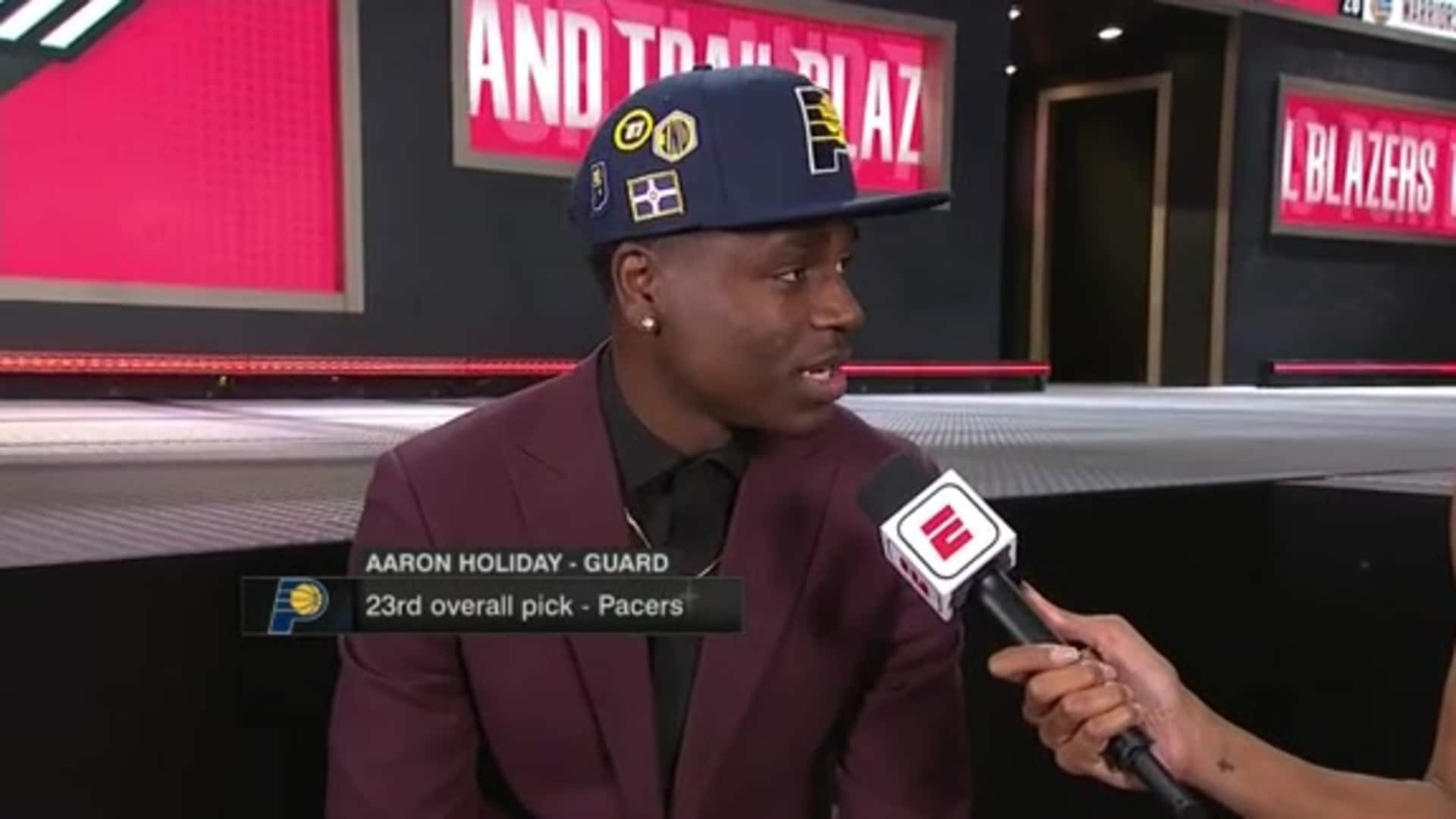 Draft Flashback: Pacers Select Aaron Holiday