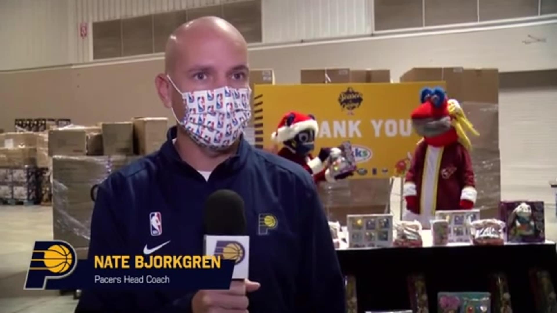 Pacers, JAKKS Pacific Tip Off 11th Annual Toy Giveaway