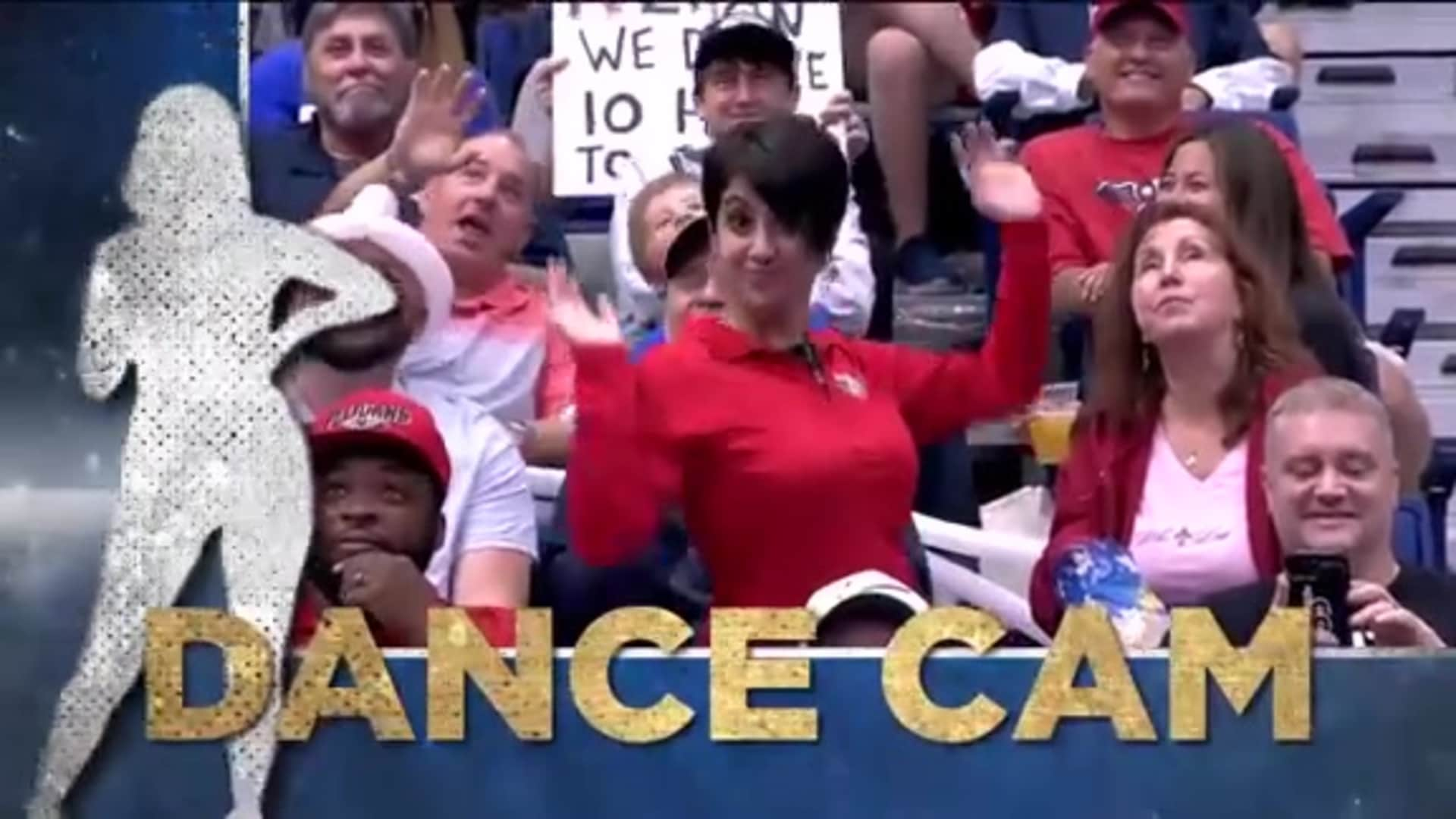 Entertainment: Pelicans Dance Cam - October 25, 2019 vs. Mavericks