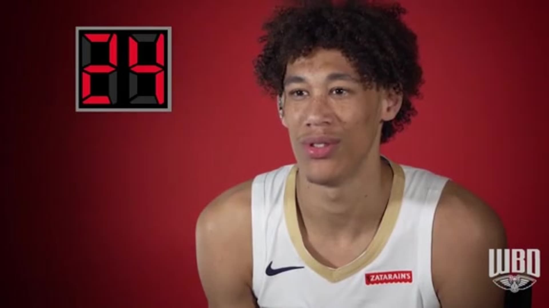 Pelicans Insider: 24 Seconds with Jaxson Hayes