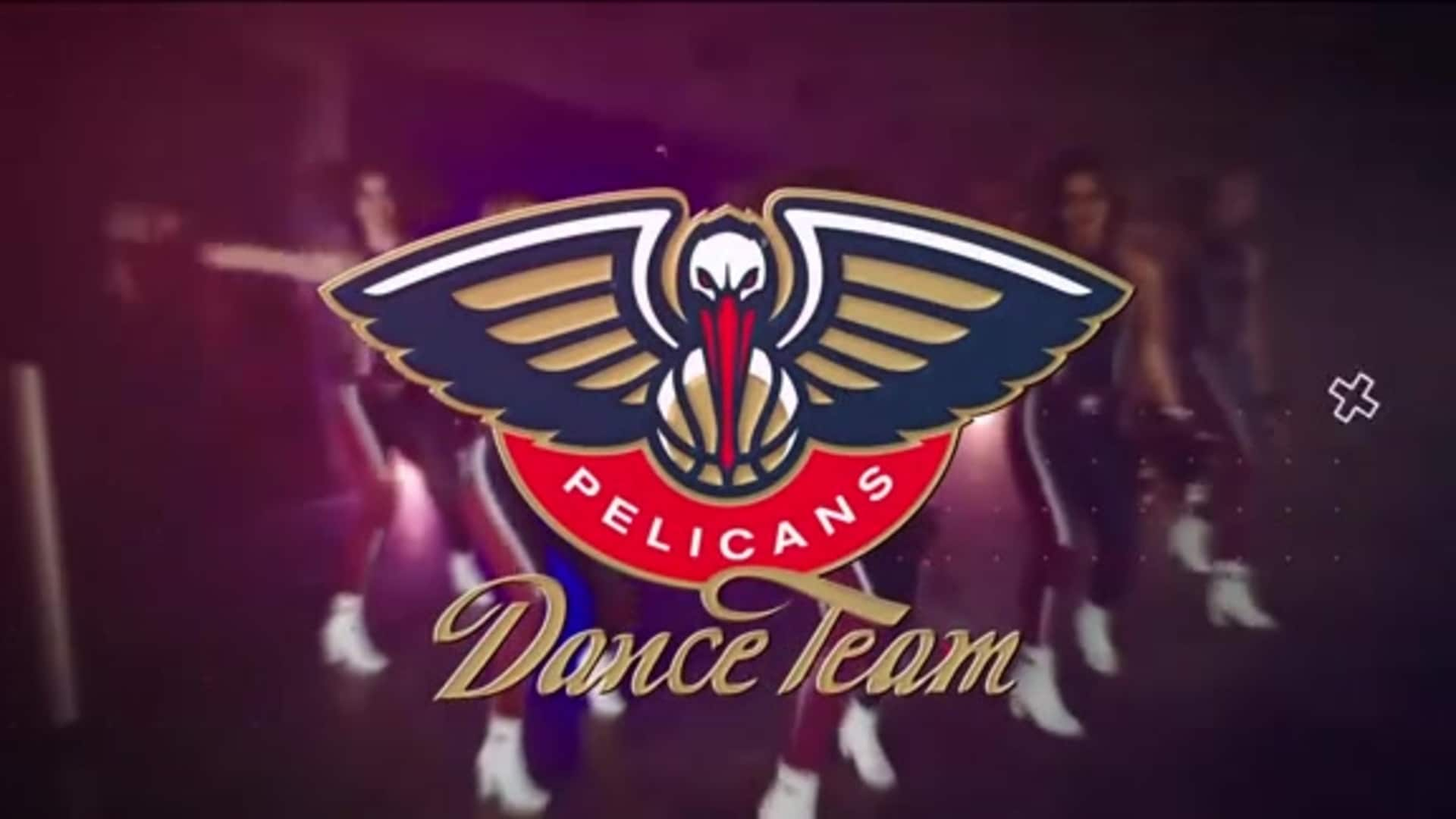 Entertainment: Pelicans Dance Team 3rd quarter performance - November 8 vs. Toronto Raptors