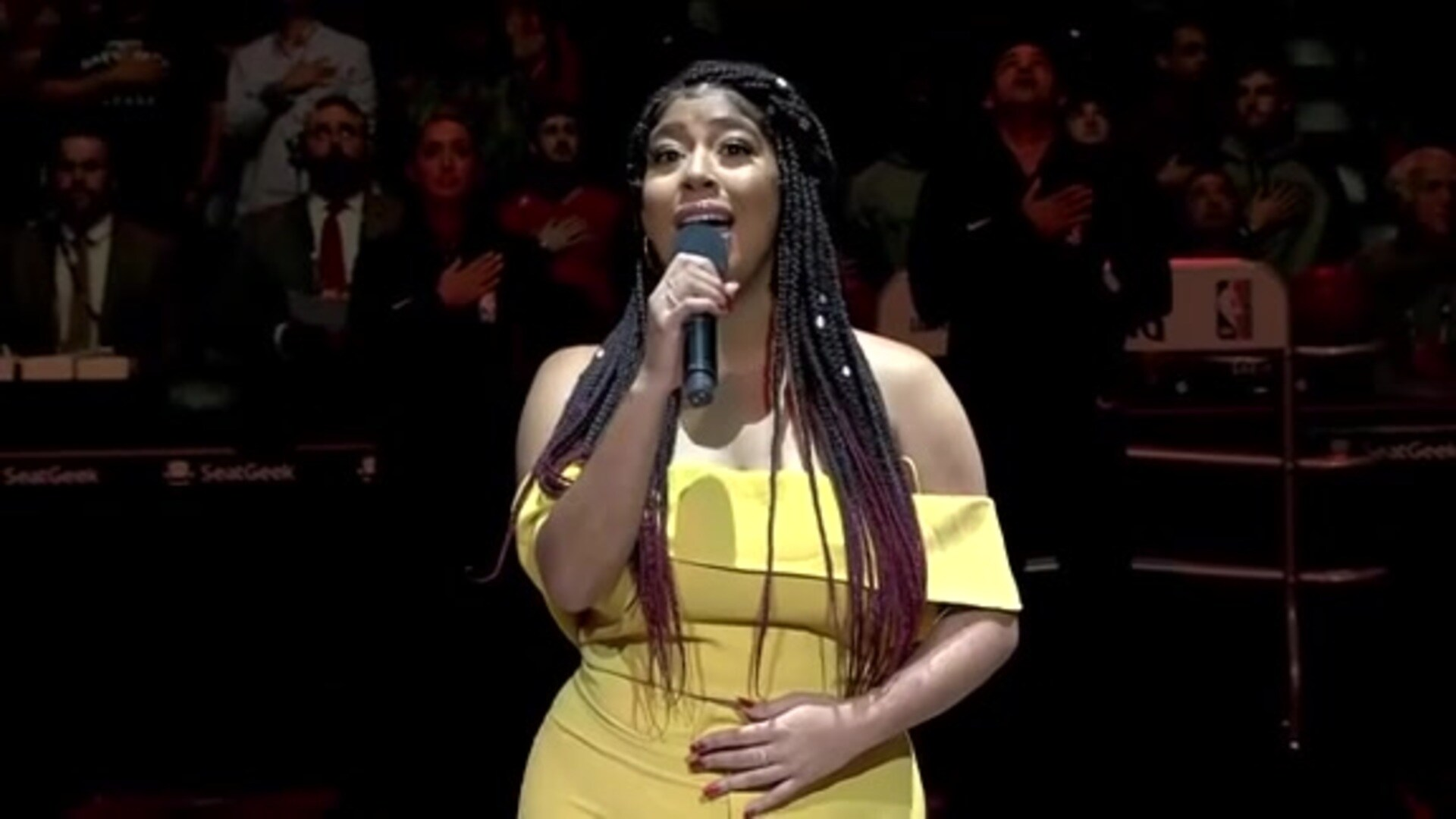 Entertainment: National Anthem performance by Jeidimar Rijos – November 14 vs. L.A. Clippers