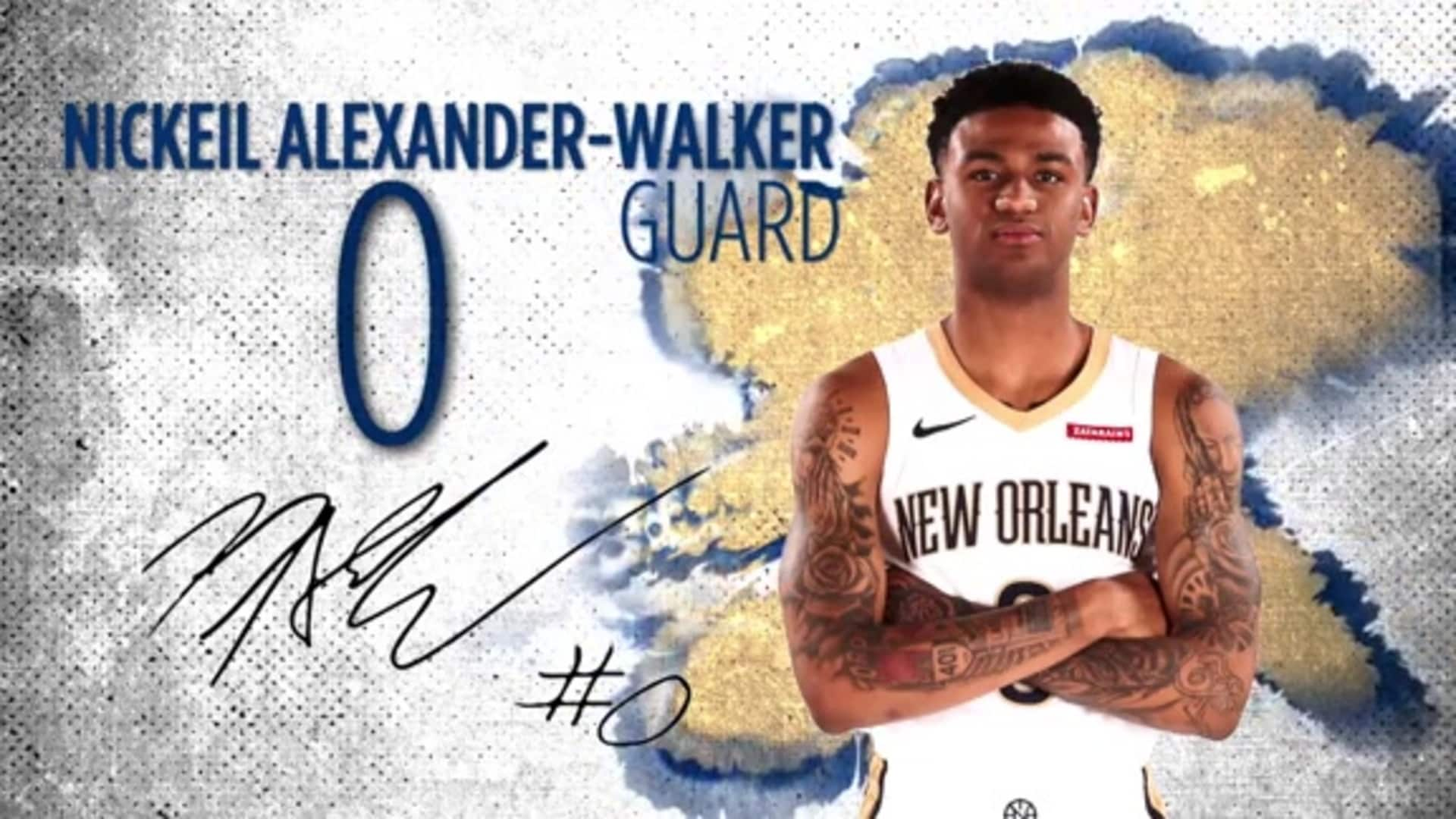 Pelicans Player Spotlight: Nickeil Alexander-Walker