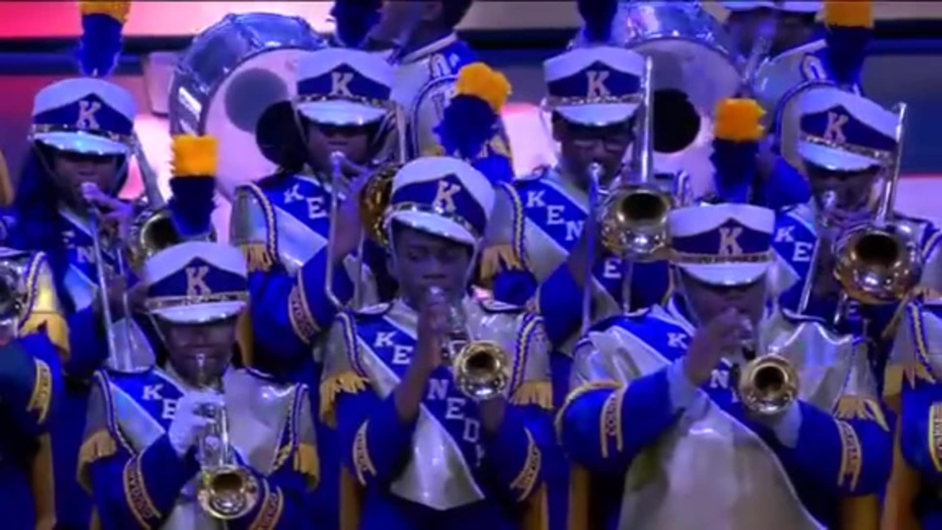 Pelicans Halftime: John F. Kennedy Marching Band - December 3, 2019 vs. Dallas Mavericks