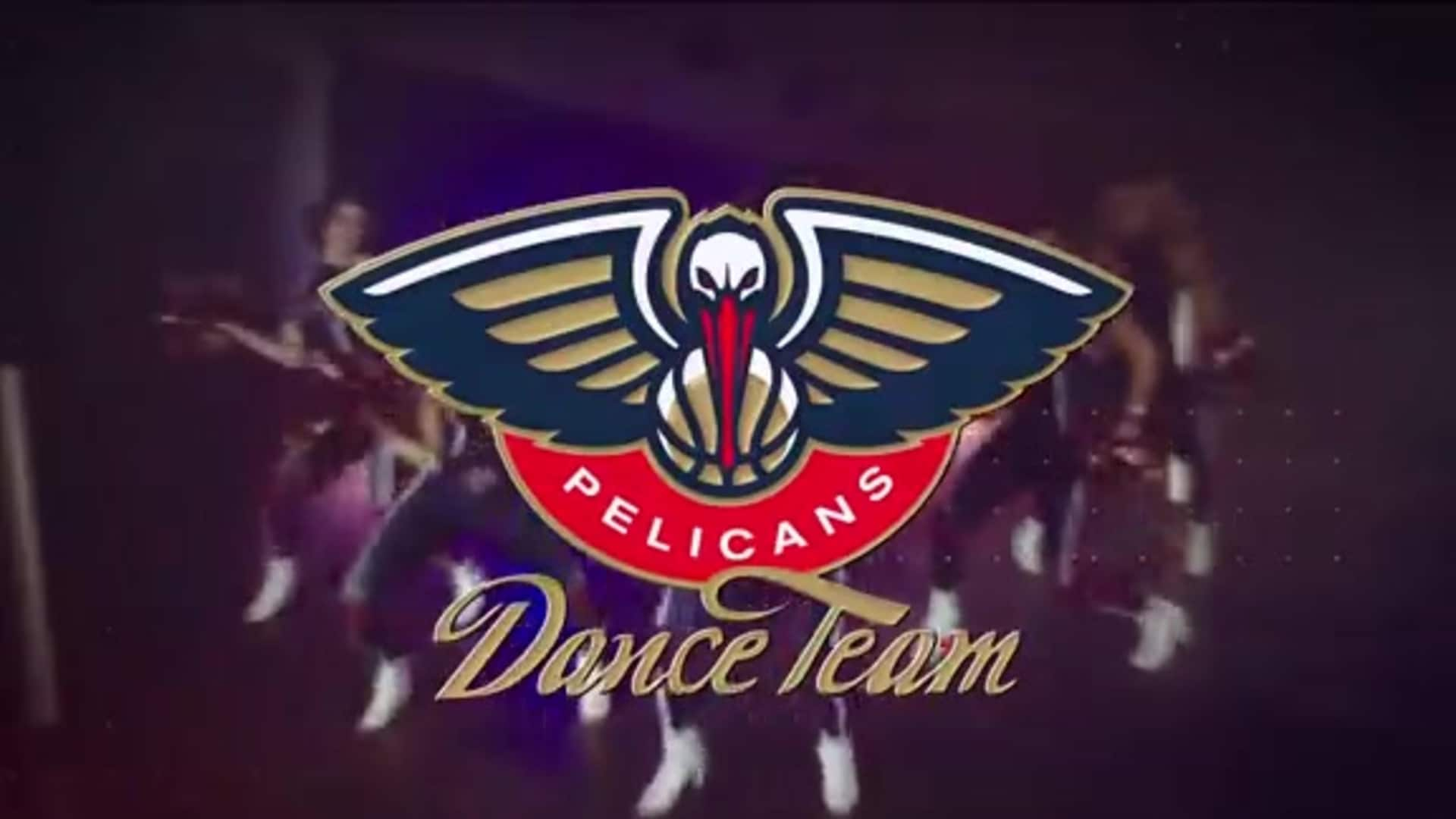 Entertainment: Pelicans Dance Team 2nd quarter performance - December 3 vs. Dallas Mavericks