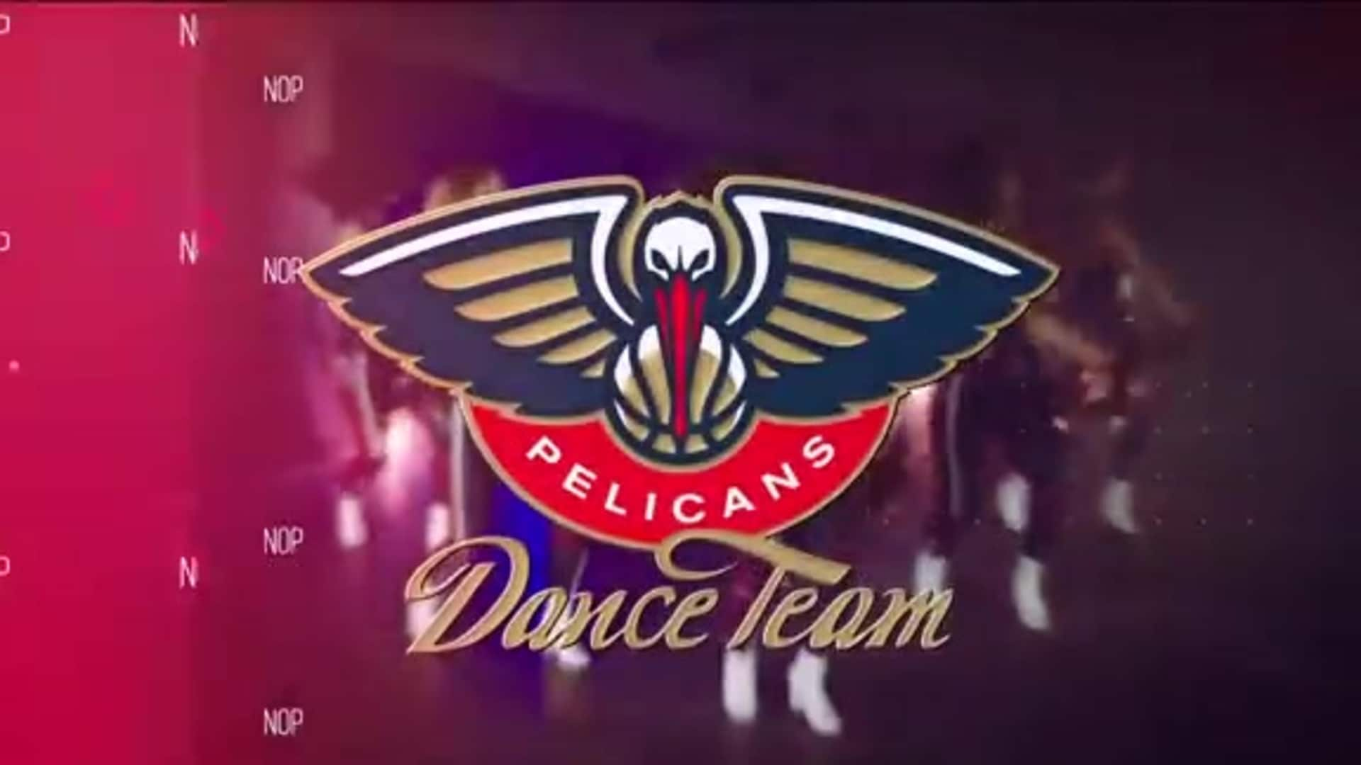 Entertainment: Pelicans Dance Team 3rd quarter performance - December 5 vs. Phoenix Suns