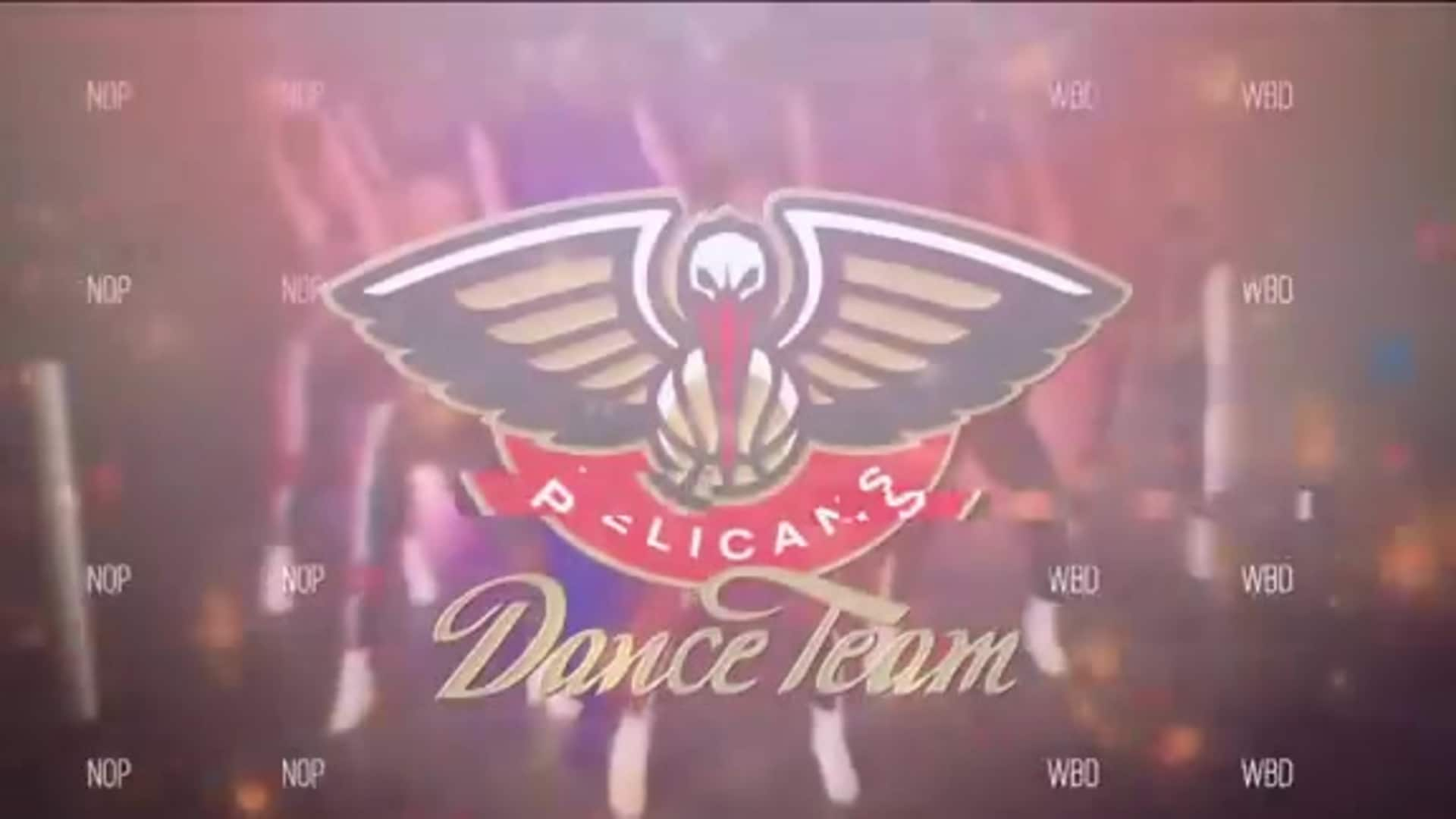 Entertainment: Pelicans Dance Team 3rd quarter performance - December 9 vs. Detroit Pistons