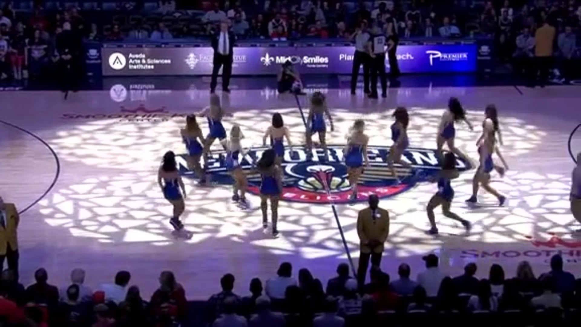 Entertainment: Pelicans Dance Team 2nd quarter performance - December 15 vs. Orlando Magic
