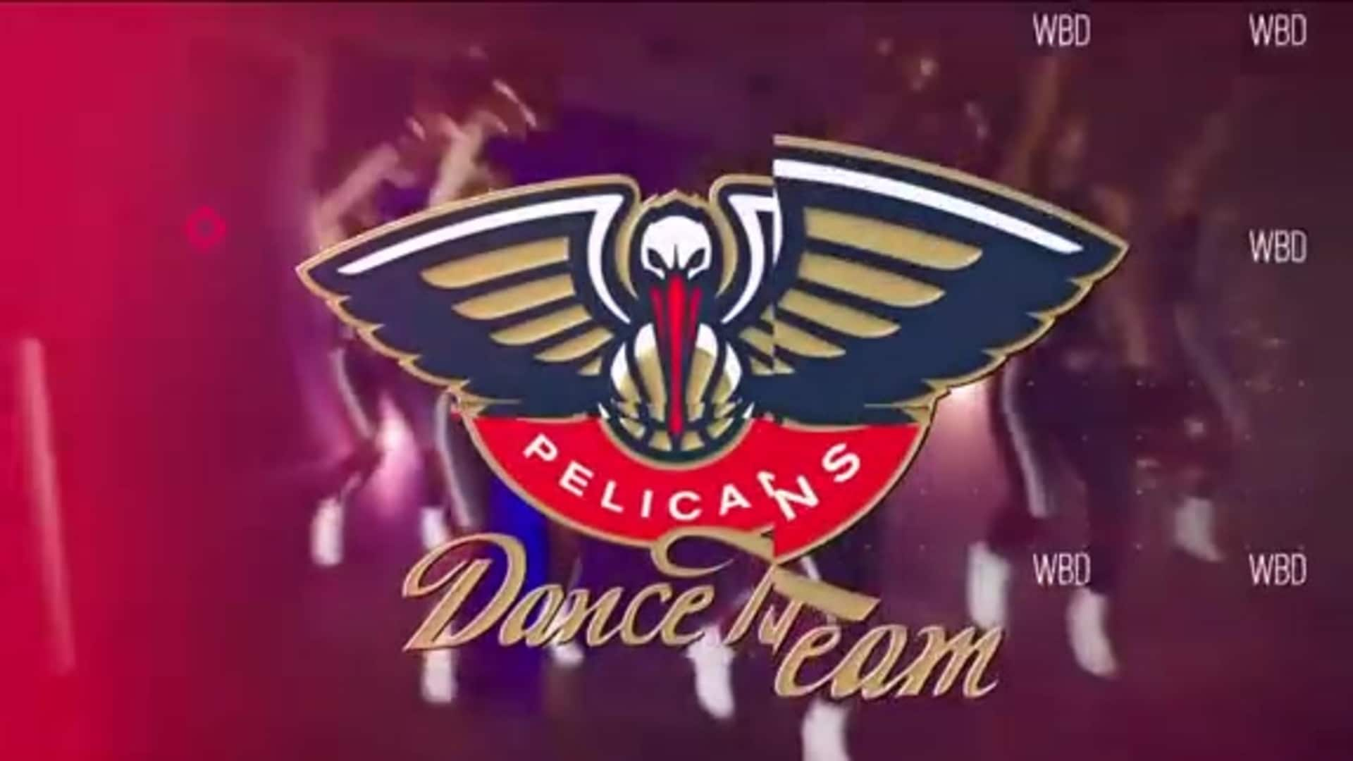 Entertainment: Pelicans Dance Team 3rd quarter performance - December 15 vs. Orlando Magic