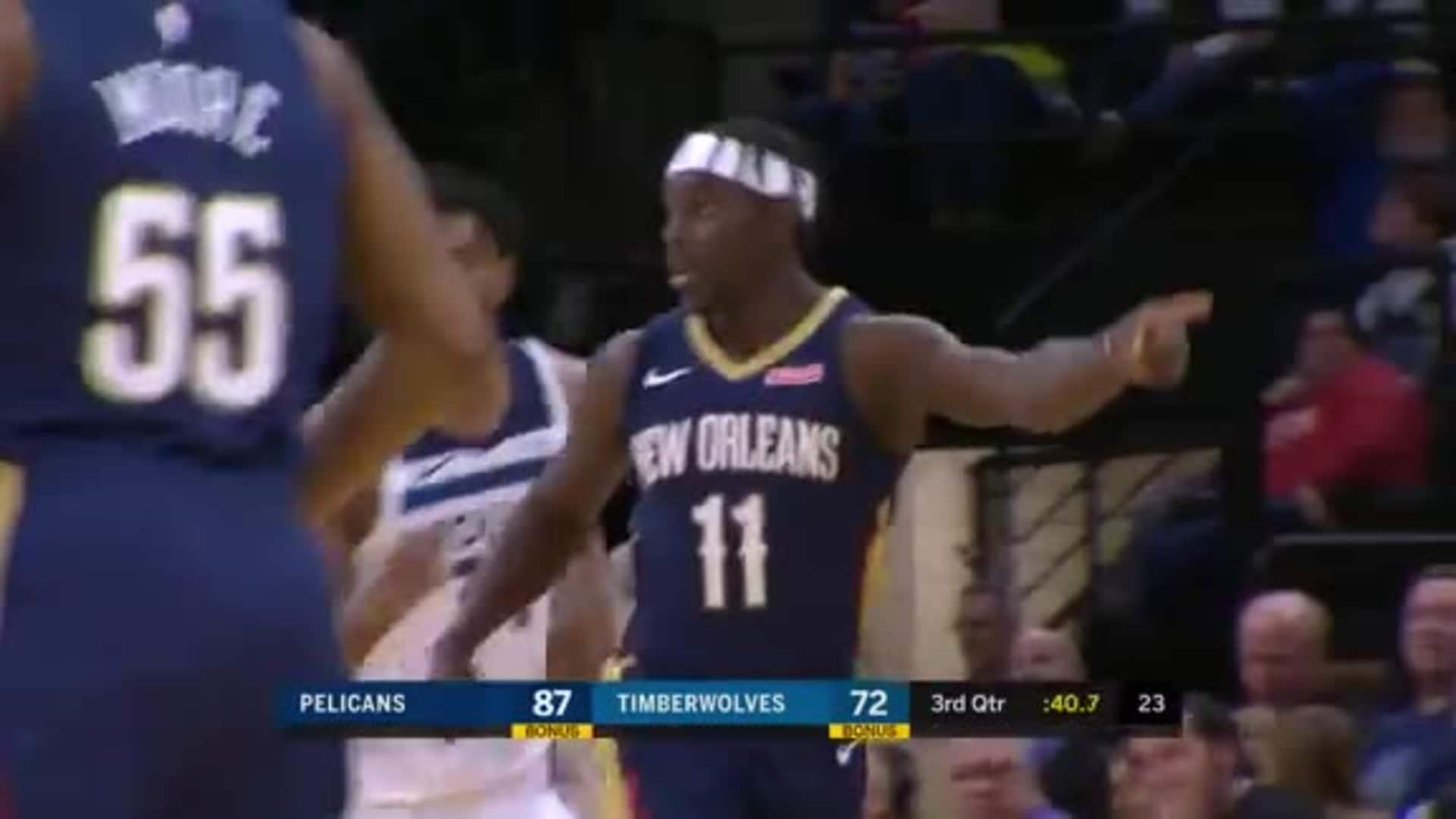 Pelicans vs. Timberwolves Highlights: Jrue Holiday sets franchise record for triples