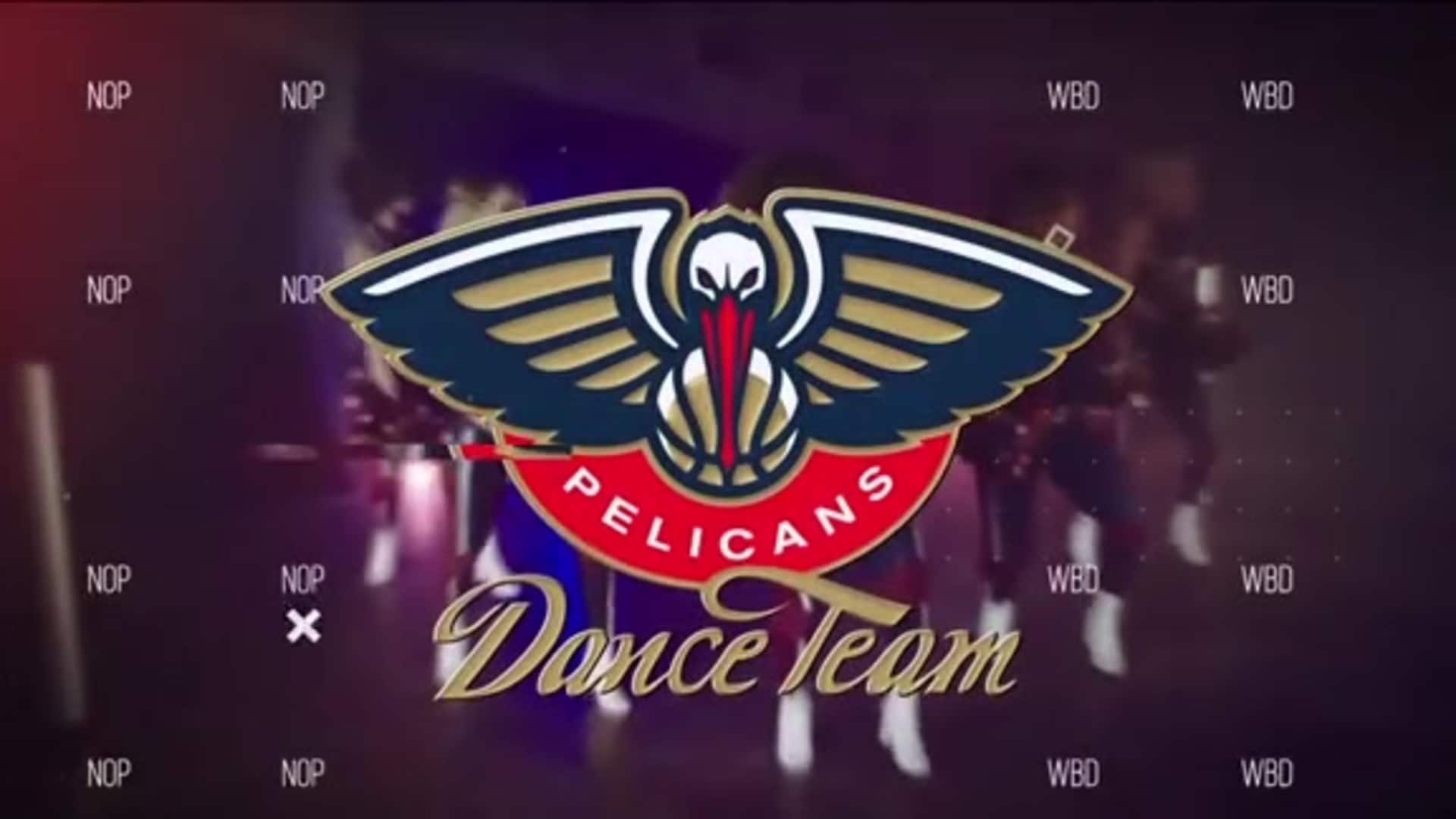 Entertainment: Pelicans Dance Team 3rd quarter performance - December 29 vs. Houston Rockets