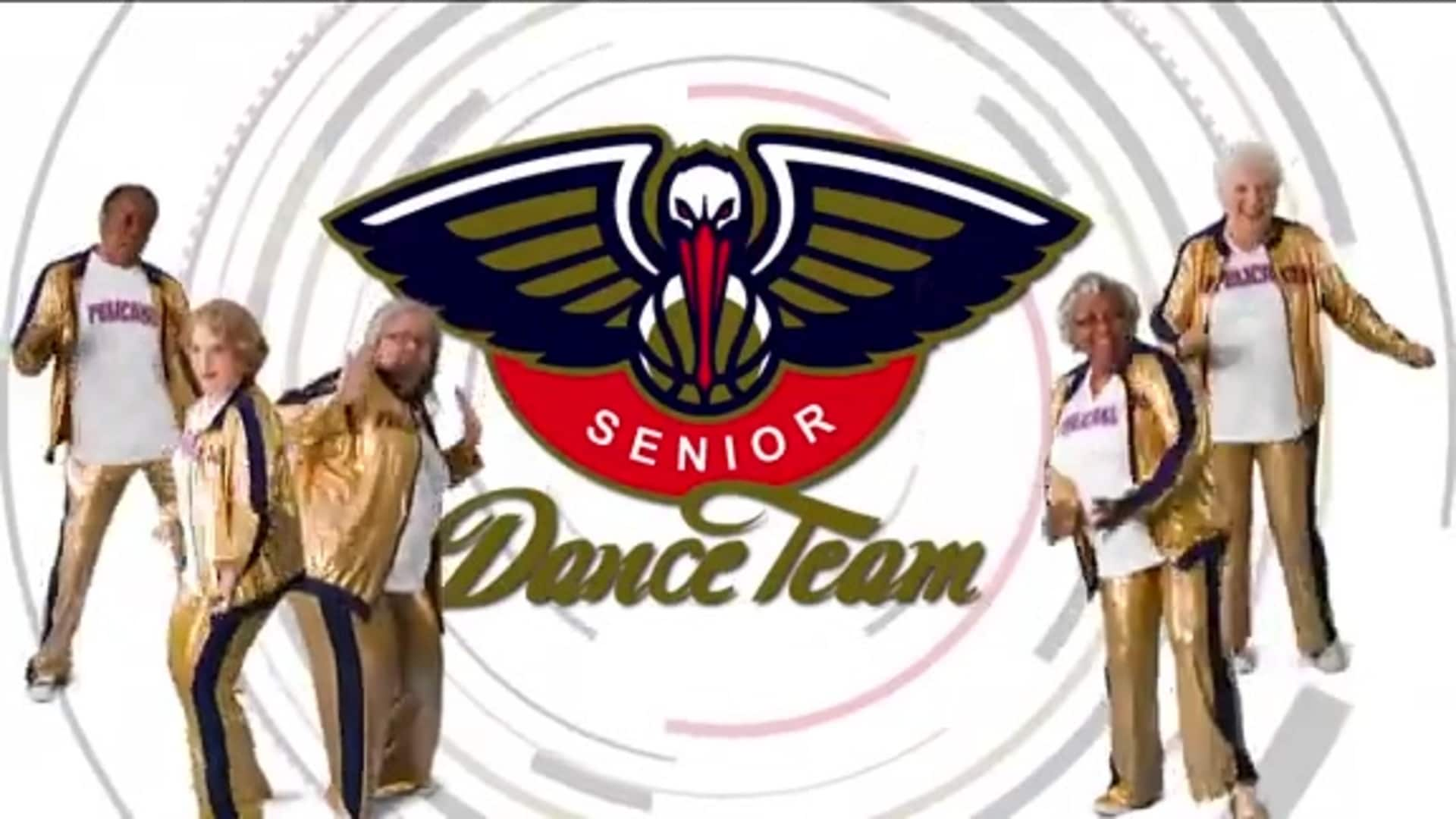 Entertainment: Pelicans Senior Dance Team performance - December 29 vs. Houston Rockets
