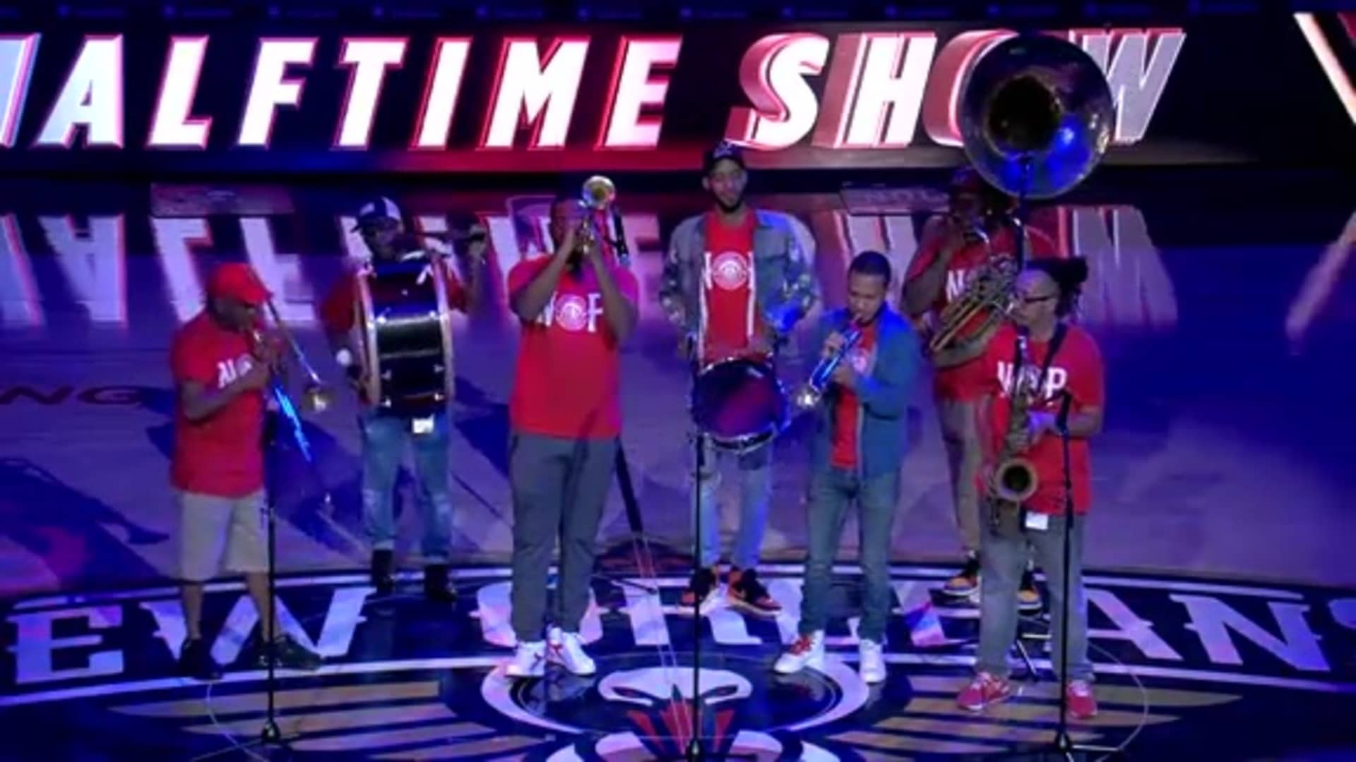 Pelicans Halftime: Rebirth Brass Band - December 29, 2019 vs. Houston Rockets