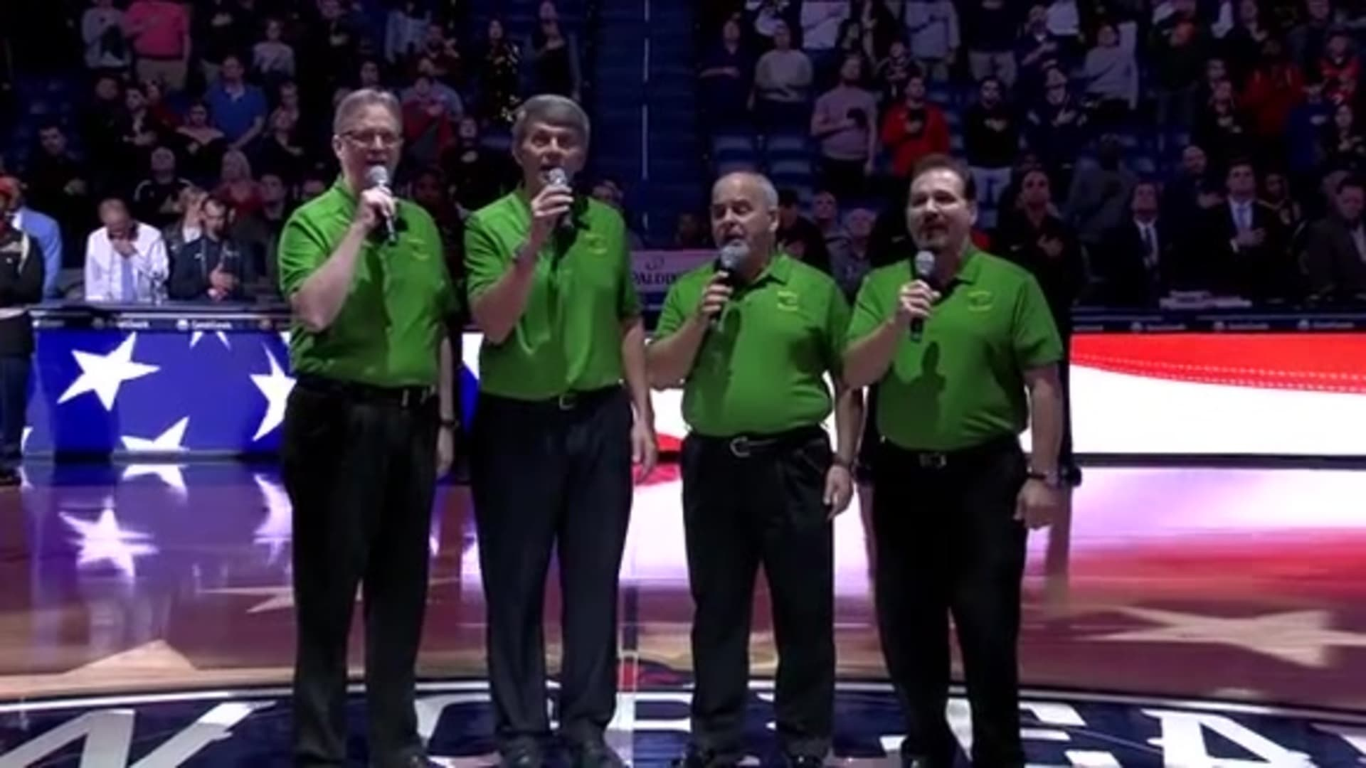 Entertainment: National Anthem performance by The Southern Tradition Quartet – January 6 vs. Utah Jazz