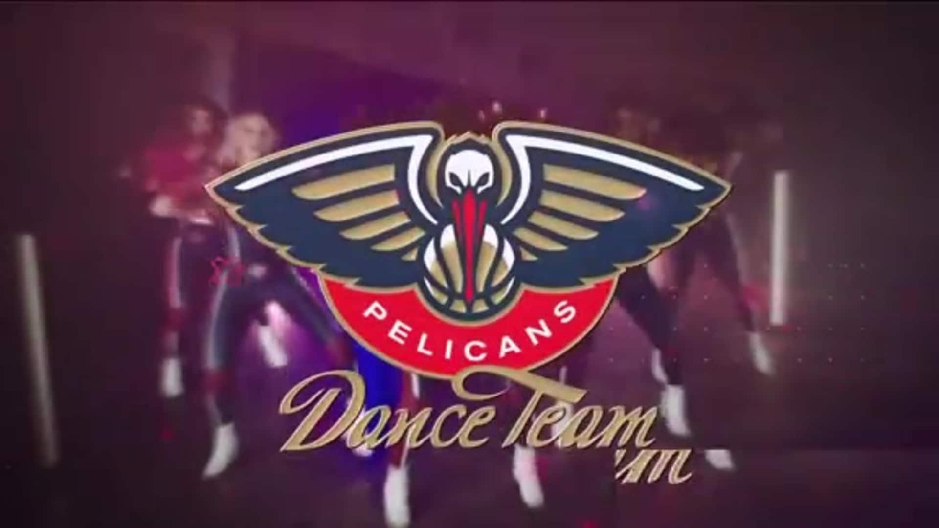 Entertainment: Pelicans Dance Team 2nd quarter performance - January 6 vs. Utah Jazz