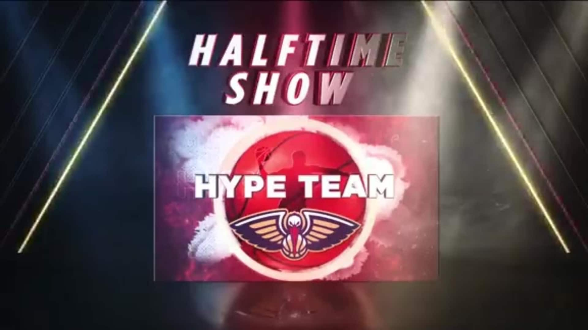 Pelicans Halftime: Pelicans Hype Team - January 6, 2020 vs. Utah Jazz