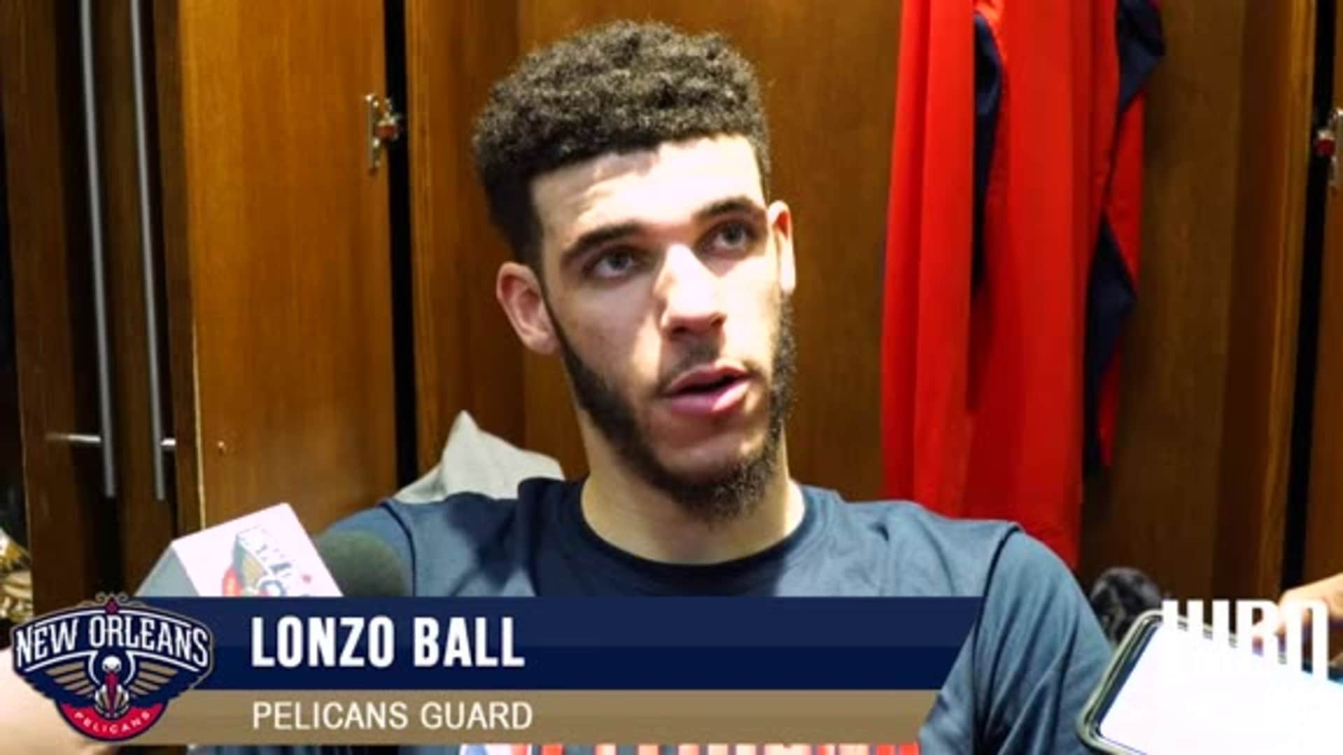 Pelicans-Clippers Postgame: Lonzo Ball 1-18-2020