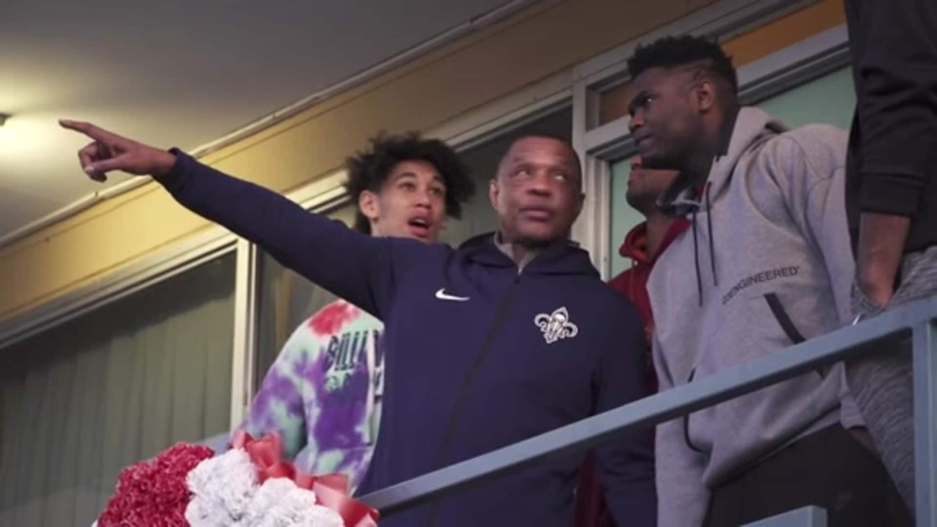 Pelicans players visit National Civil Rights Museum