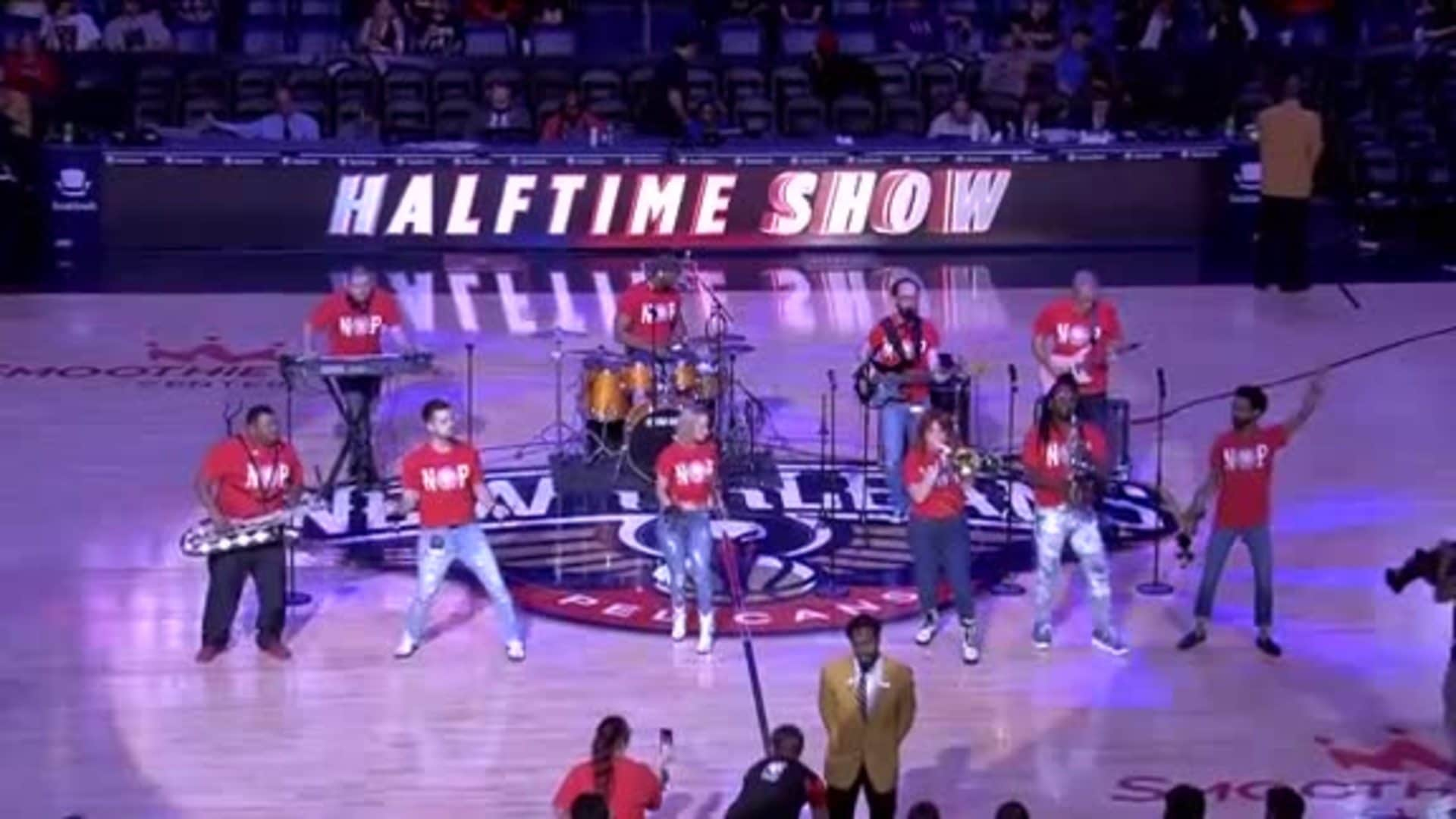 Pelicans Halftime: The Phunky Monkeys - January 16, 2020 vs. Utah Jazz